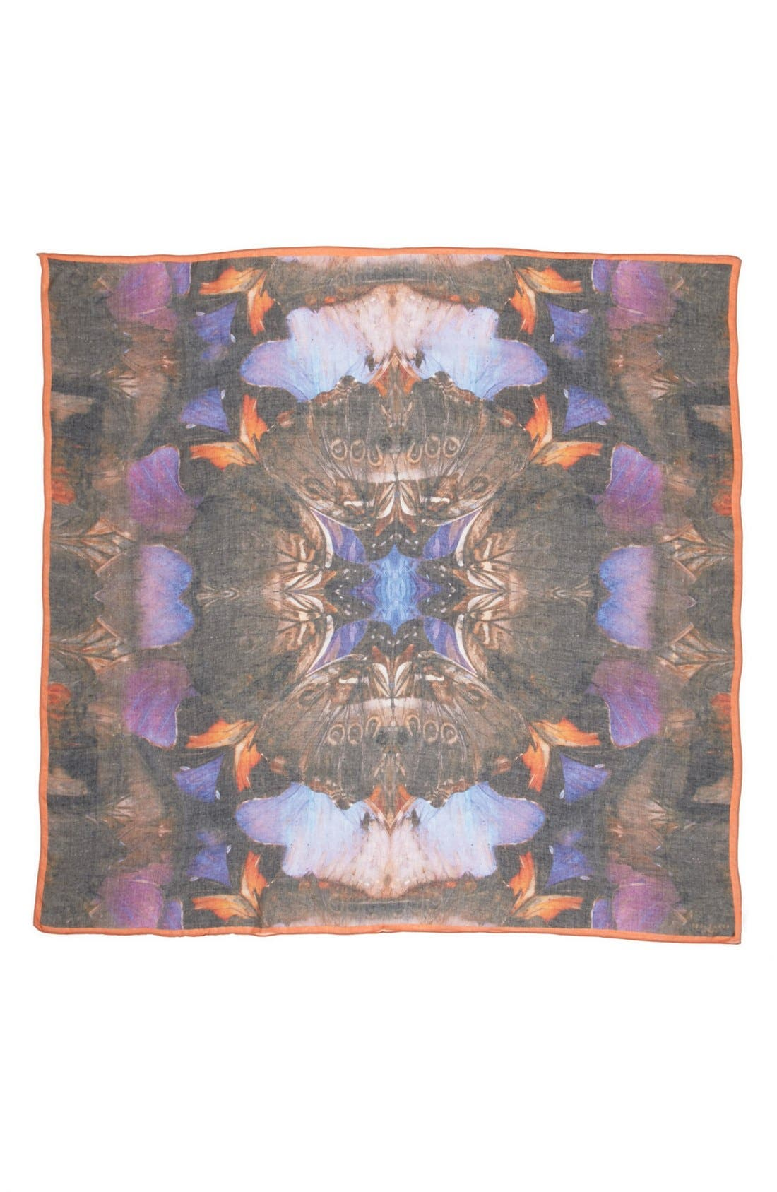 Alternate Image 2  - Ted Baker London 'Butterfly' Square Scarf