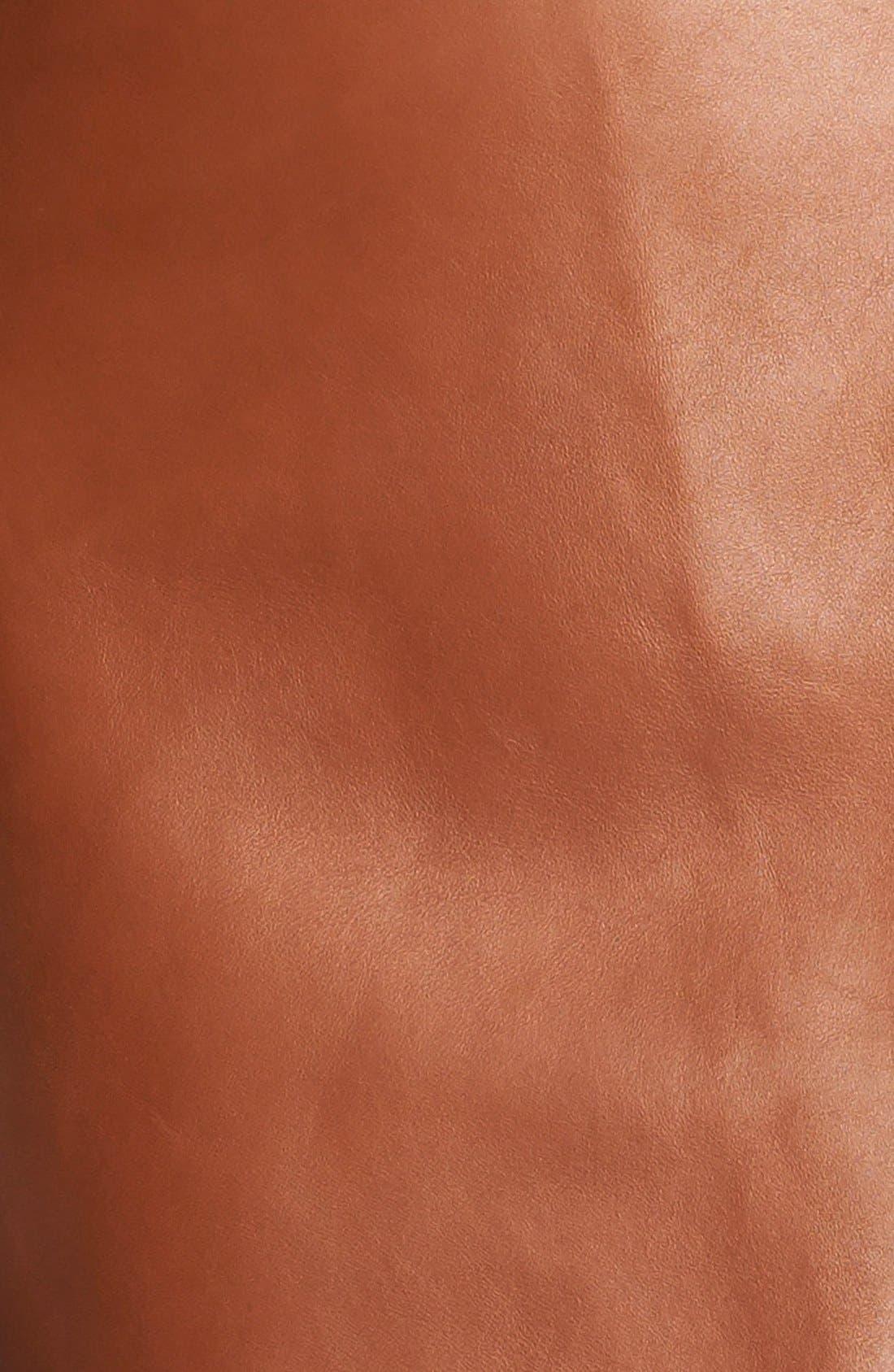 Alternate Image 3  - 3.1 Phillip Lim Leather Miniskirt