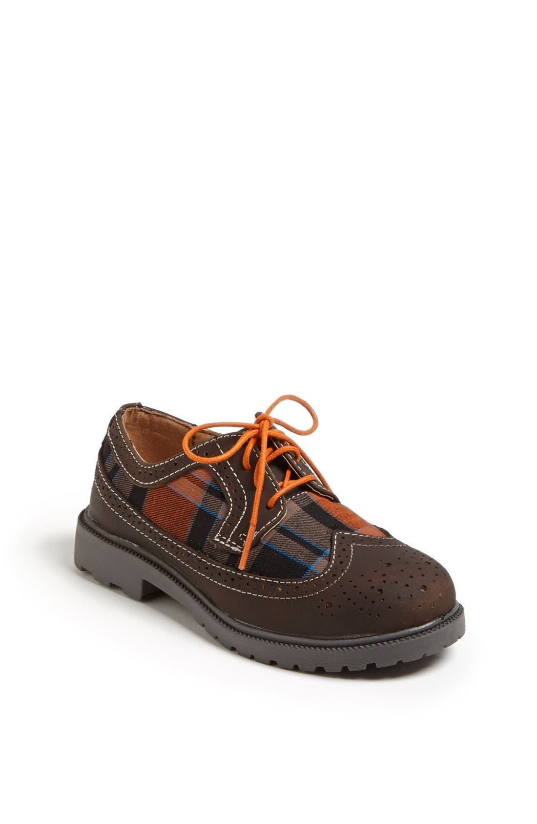 Main Image - Florsheim 'Valco Jr.' Wingtip Oxford (Toddler, Little Kid & Big Kid)