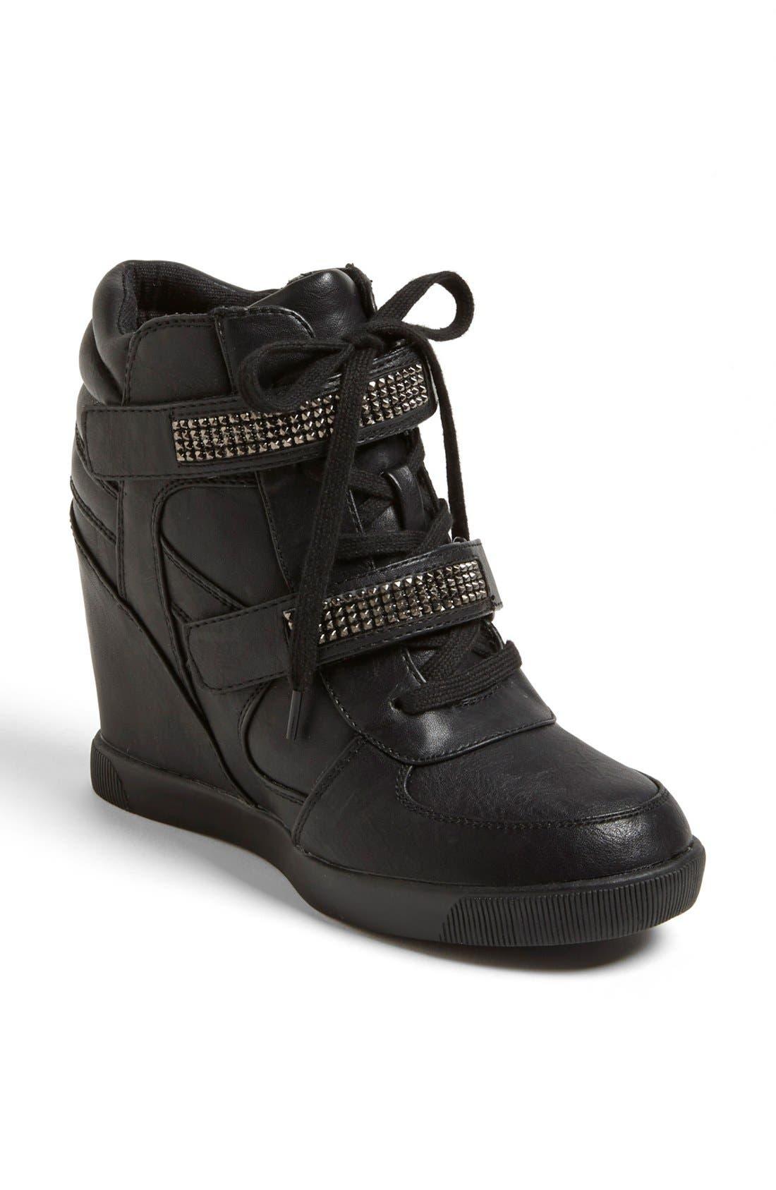 Alternate Image 1 Selected - MIA 'Flamee' Wedge Sneaker