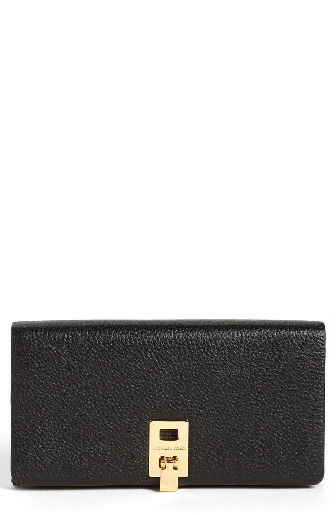 Alternate Image 1 Selected - Michael Kors 'Miranda' Continental Wallet