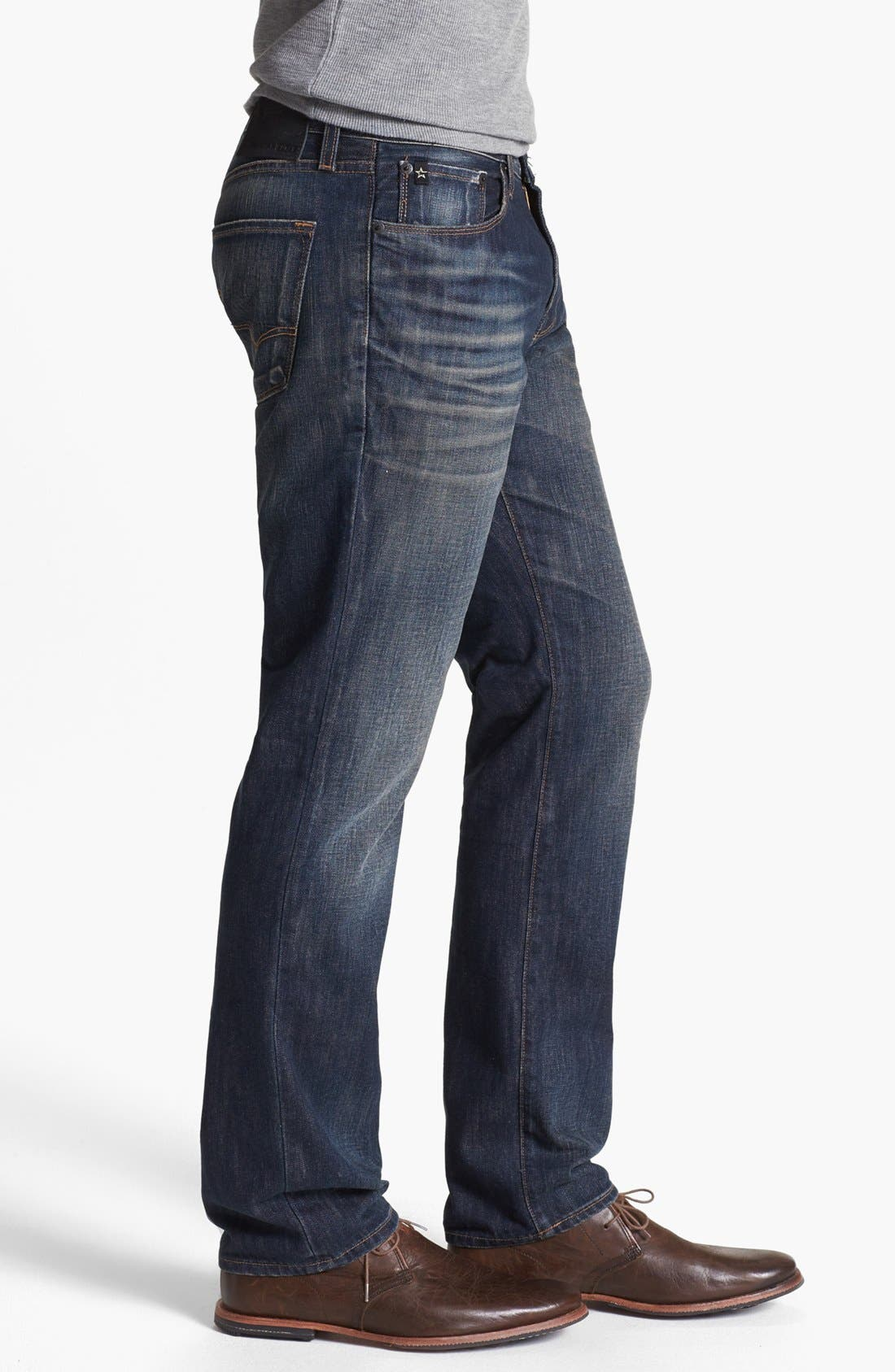 Alternate Image 3  - Big Star 'Division' Straight Leg Jeans (6 Year Piston)