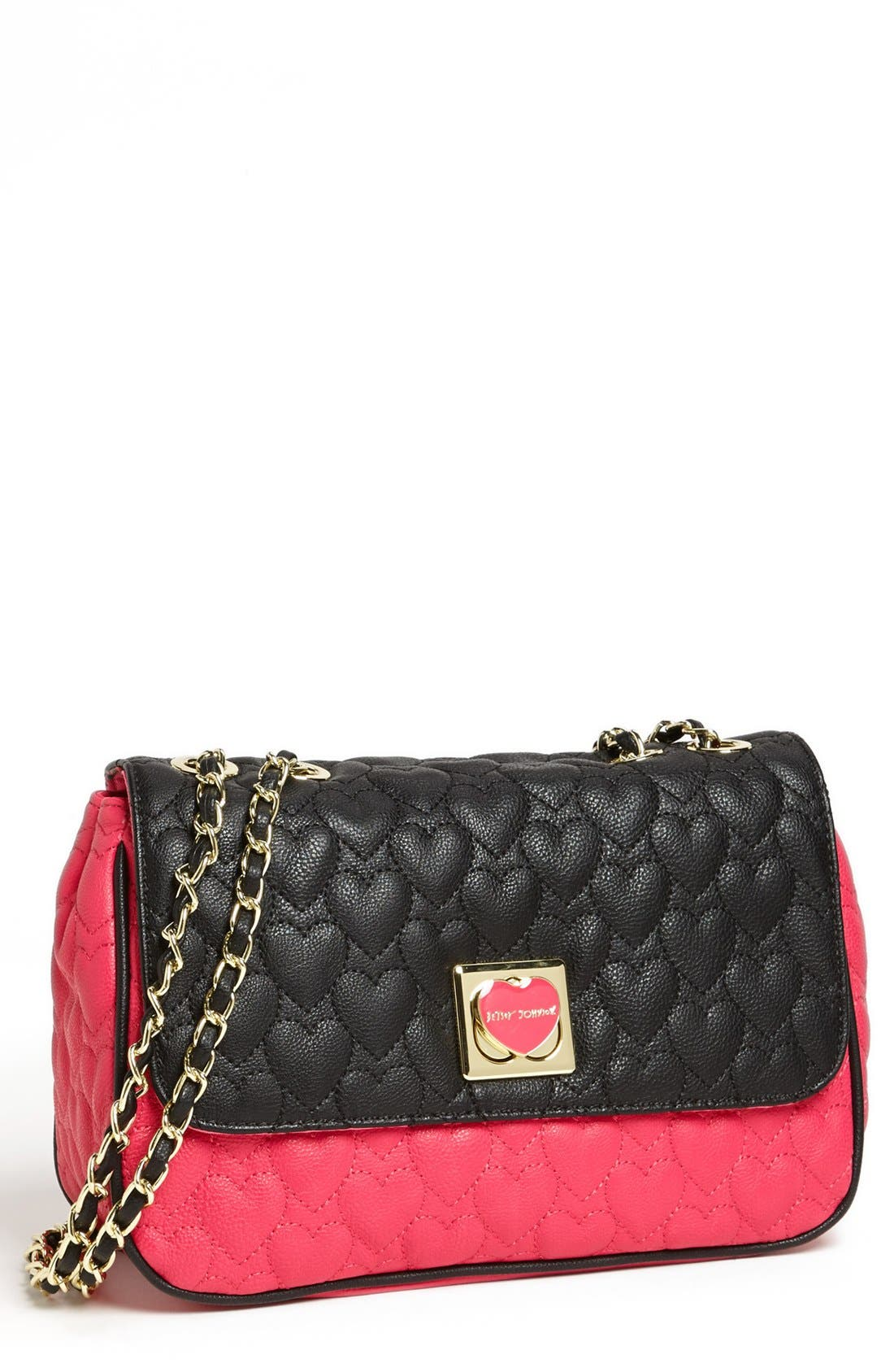 Alternate Image 1 Selected - Betsey Johnson 'Will You Be Mine' Crossbody Bag
