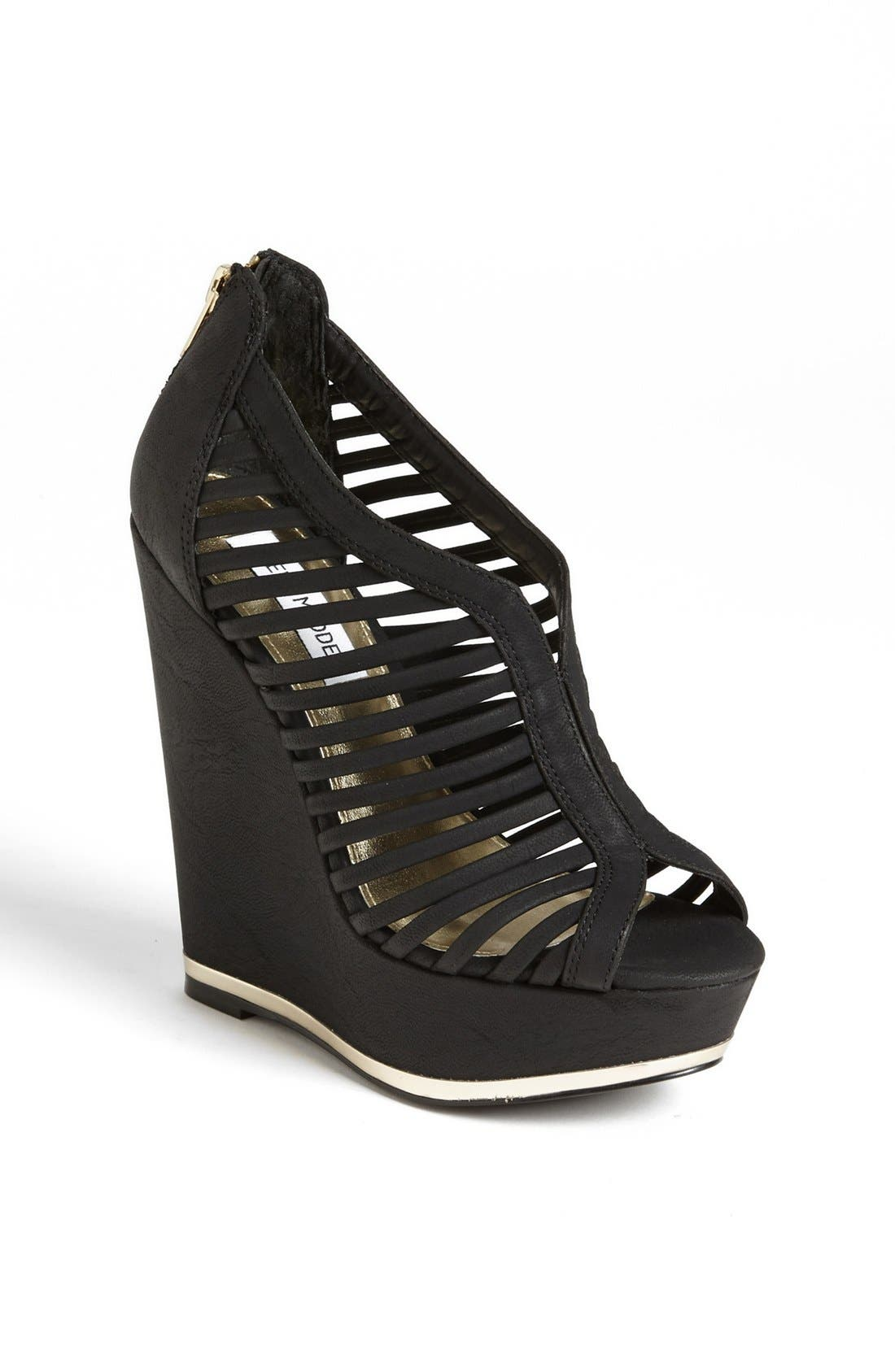 Main Image - Steve Madden 'Wresse' Wedge Bootie