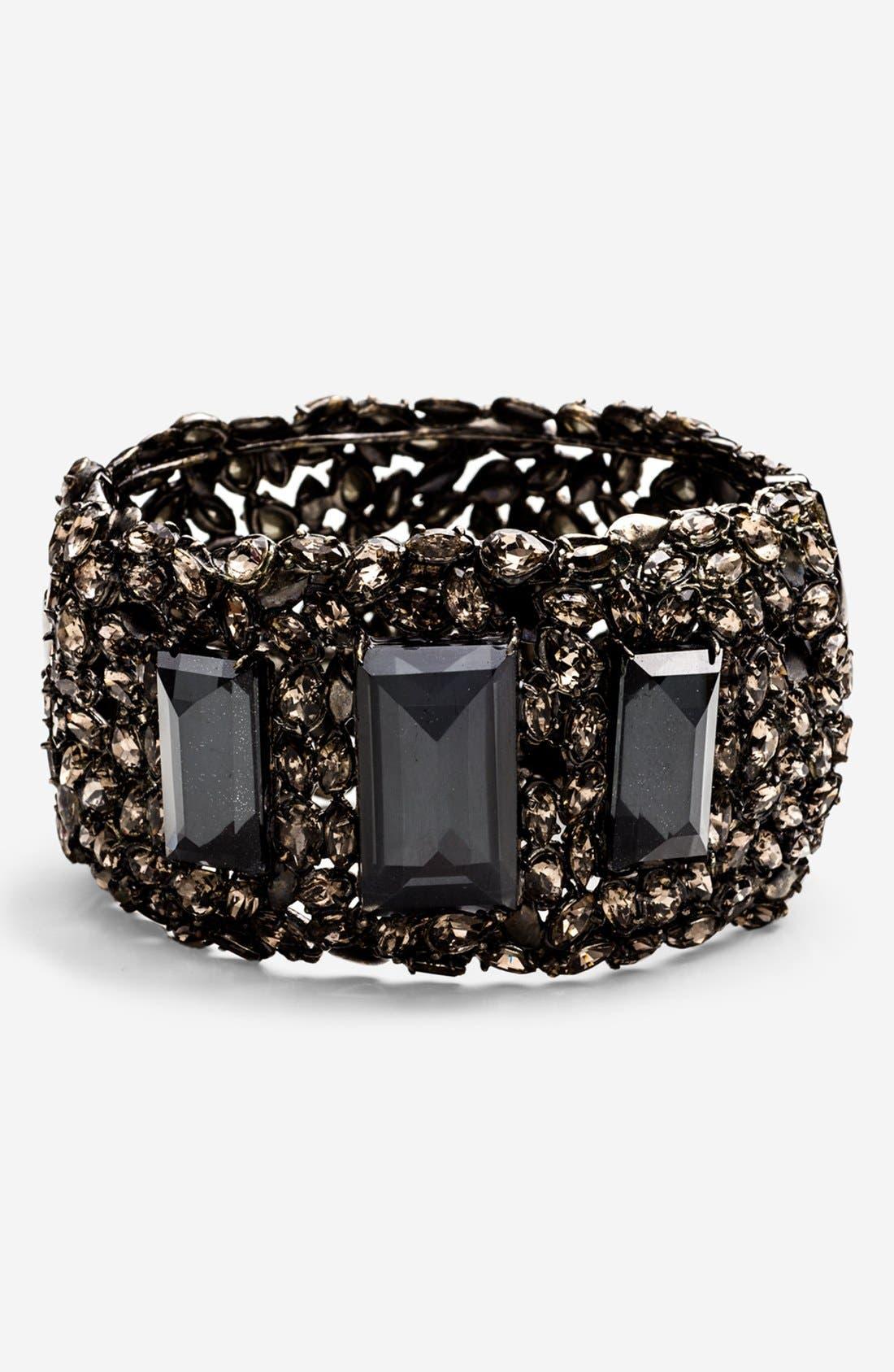 Alternate Image 1 Selected - Alexis Bittar 'Miss Havisham - Pavo' Hinged Bracelet