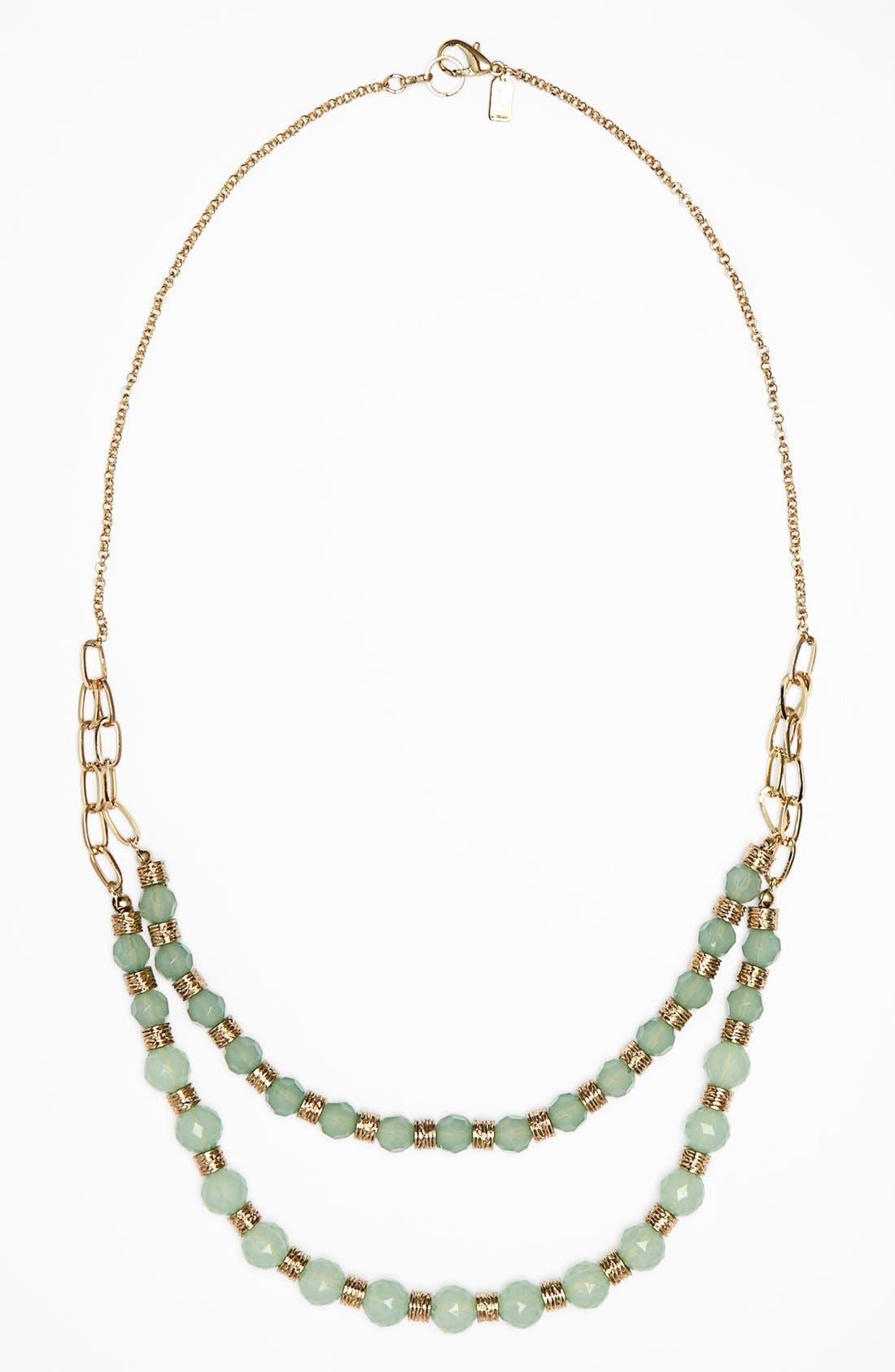 Alternate Image 1 Selected - Rachel Beaded Layering Necklace (Juniors)