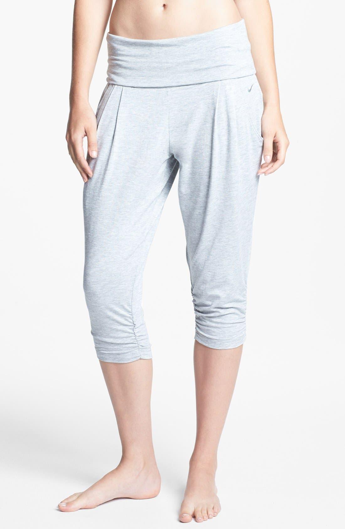 Alternate Image 1 Selected - Nike 'Ace' Crop Pants