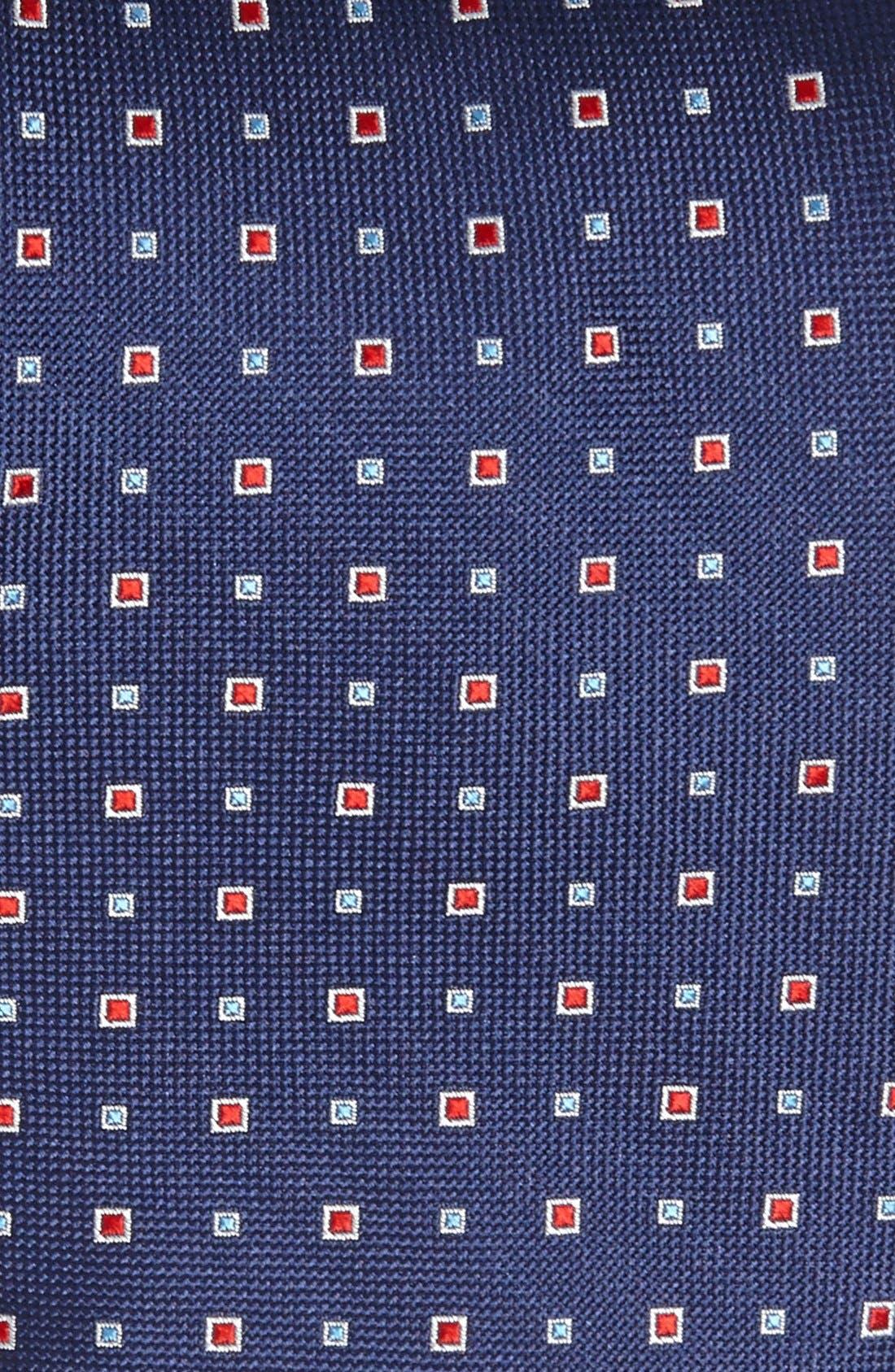 Alternate Image 2  - Nordstrom Woven Silk Tie (Tall)