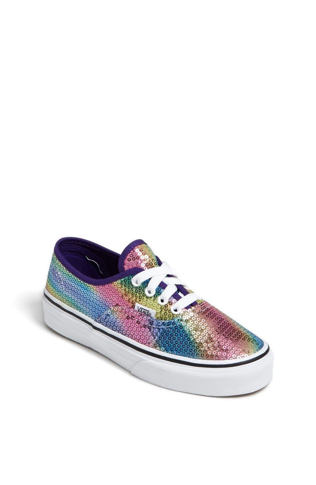 Alternate Image 1 Selected - Vans 'Classic - Rainbow Sequin' Sneaker (Toddler, Little Kid & Big Kid)