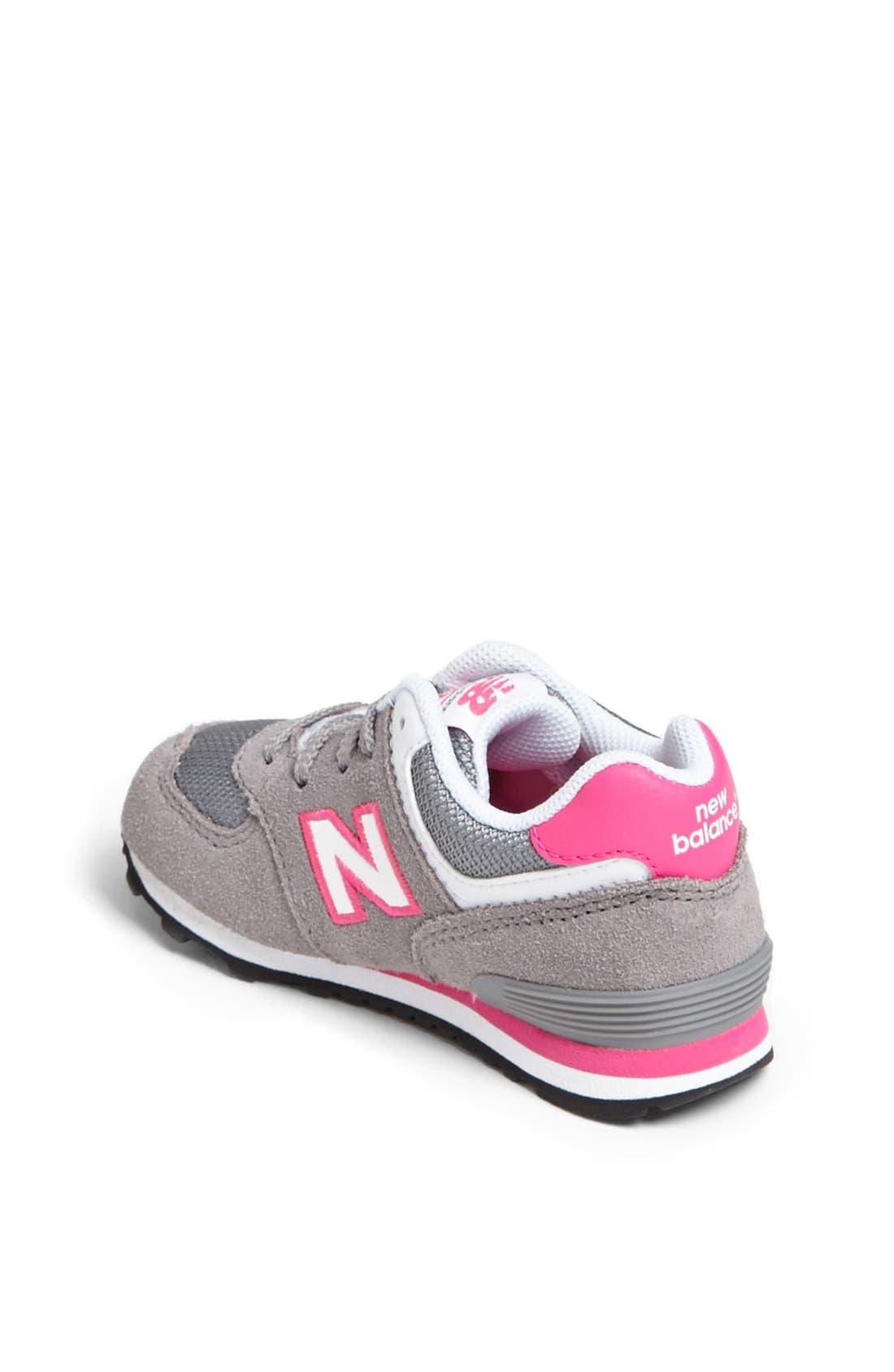 Alternate Image 2  - New Balance '574' Running Shoe (Baby, Walker & Toddler)