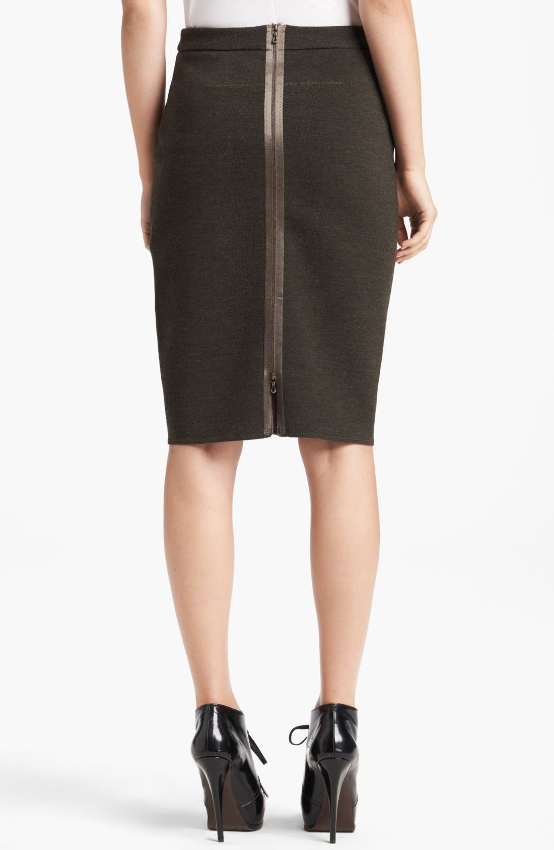 Alternate Image 2  - Lanvin Slim Jersey Skirt