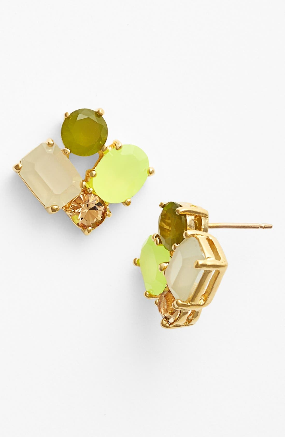 Alternate Image 1 Selected - kate spade new york cluster earrings