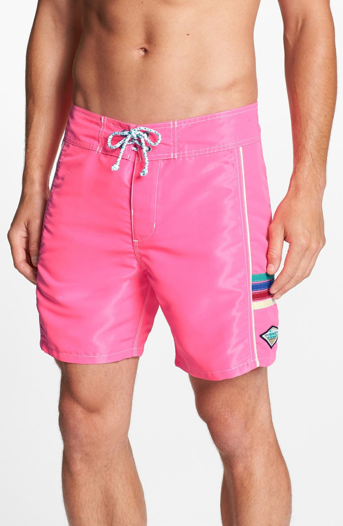 Main Image - Hobie 'Solid State' Board Shorts