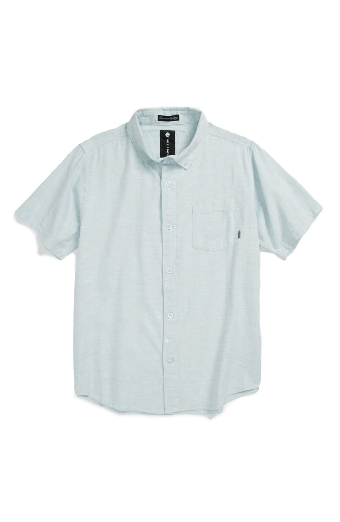 Main Image - Billabong 'All Day' Chambray Shirt (Big Boys)