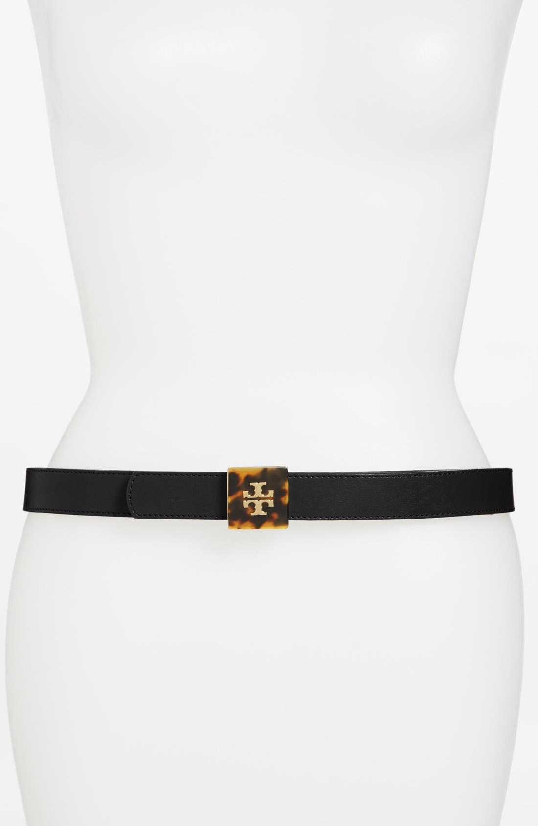 Alternate Image 2  - Tory Burch Reversible Leather Belt