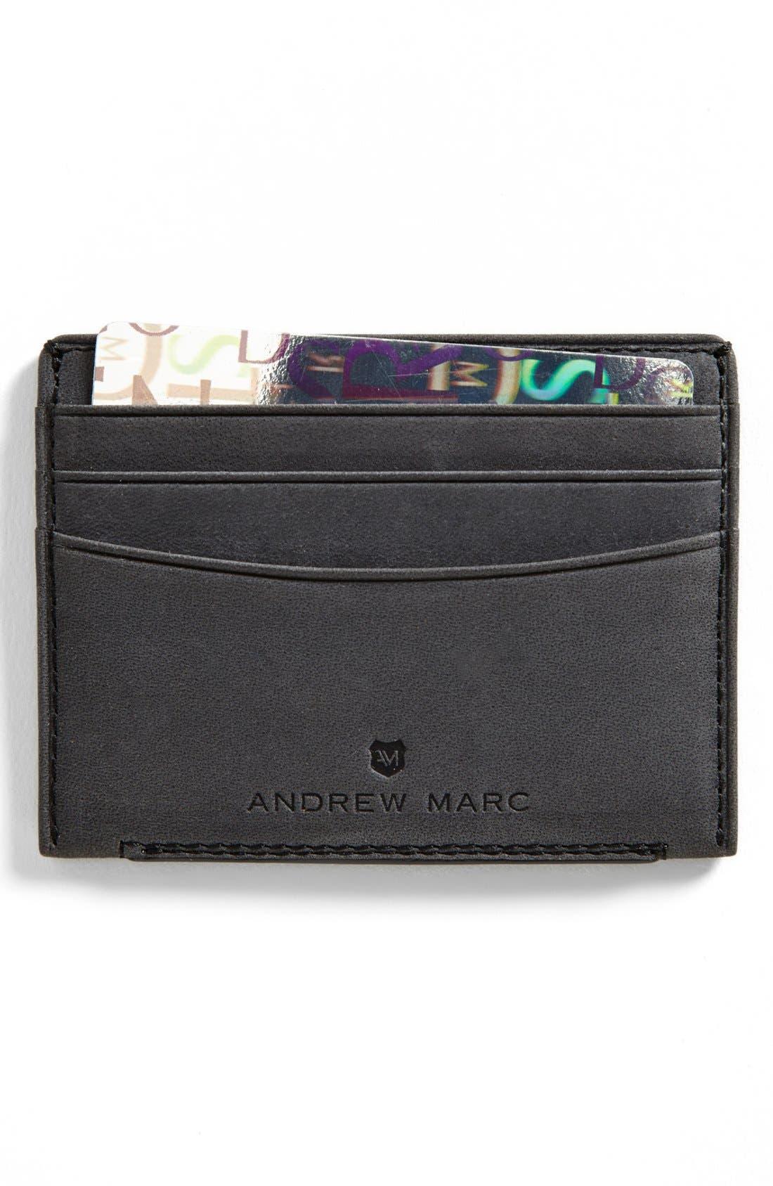 Main Image - Andrew Marc 'Warren' Card Case