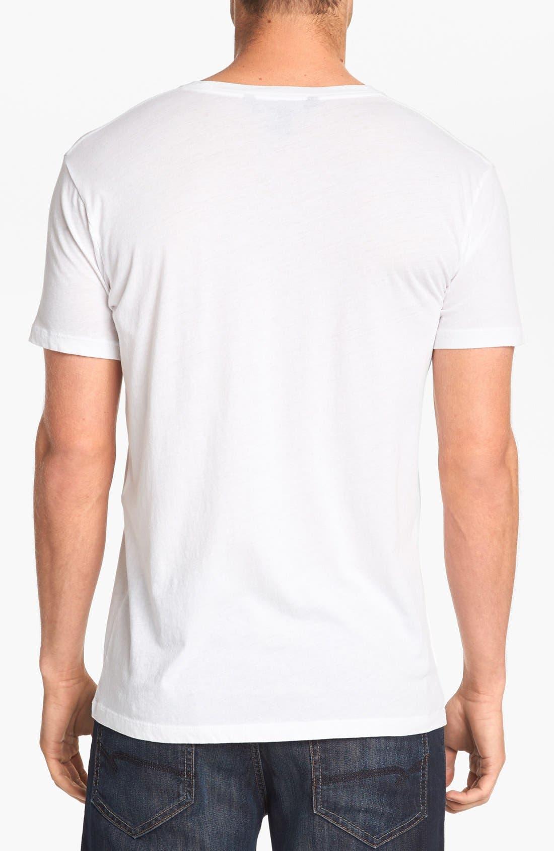 Alternate Image 2  - MARC BY MARC JACOBS Stencil Boots Cotton T-Shirt