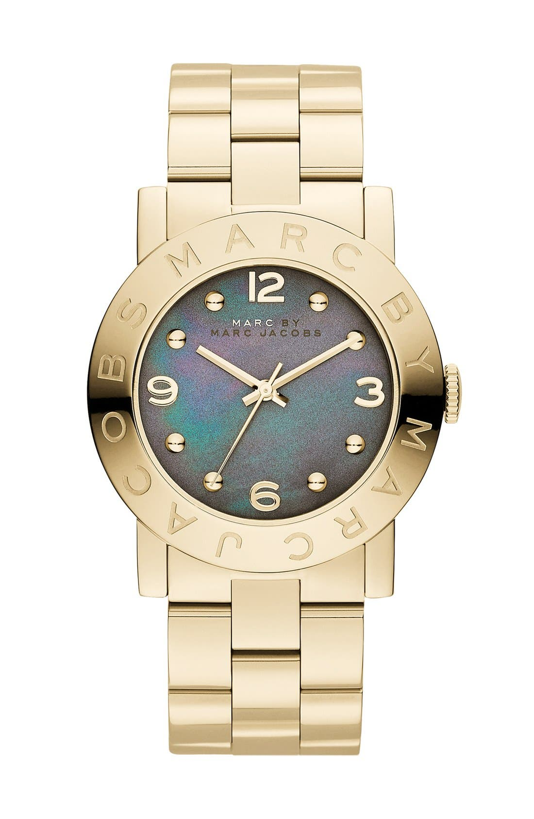Main Image - MARC JACOBS 'Amy' Bracelet Watch, 36mm