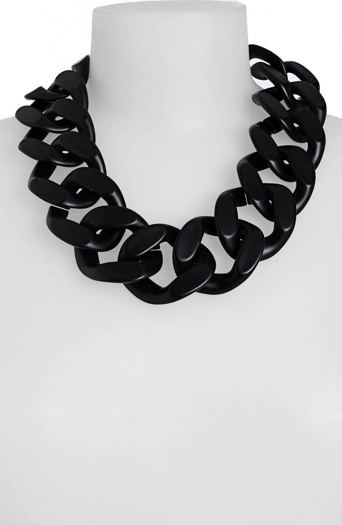 Alternate Image 1 Selected - Topshop Oversized Chain Necklace