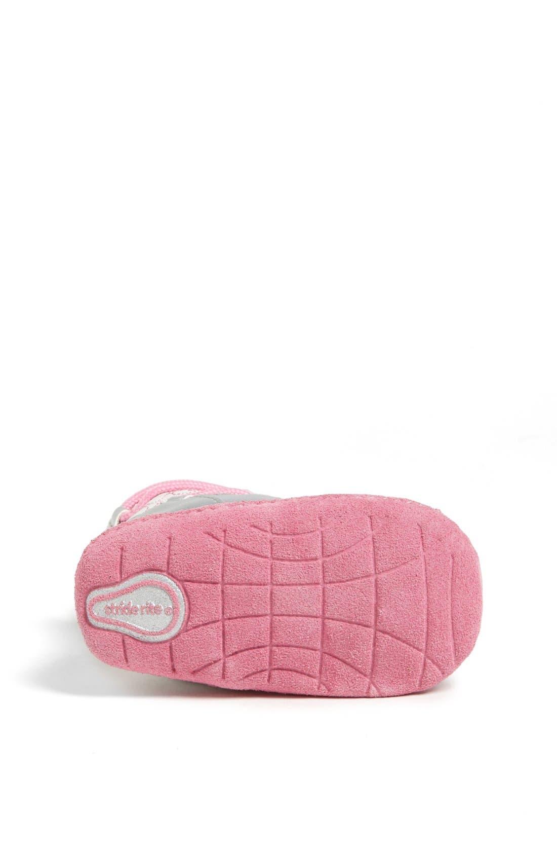 Alternate Image 4  - Stride Rite 'Crawl - Snowdrop' Boot (Baby Girls)