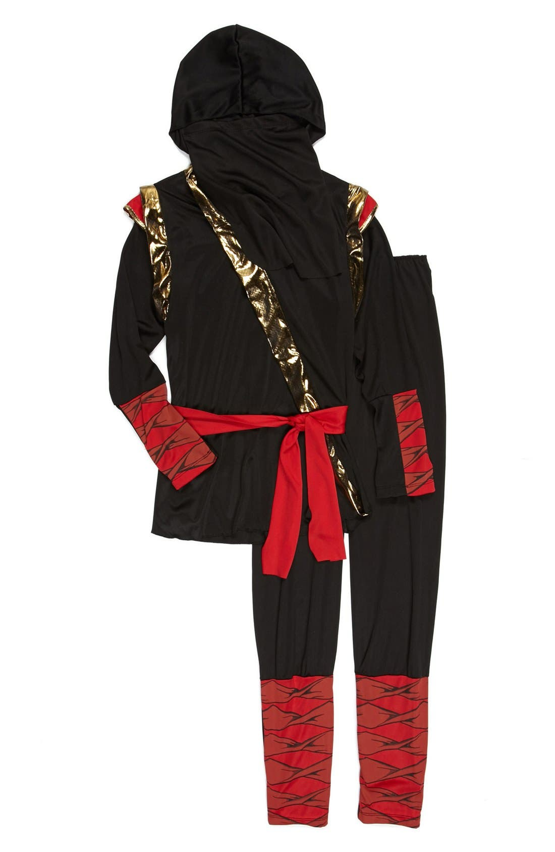 Alternate Image 2  - InCharacter Costumes 'Ninja' Tunic & Pants (Little Boys & Big Boys)