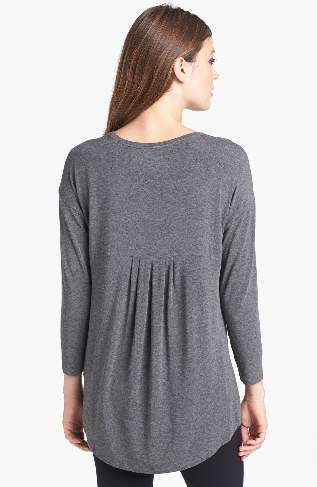 Alternate Image 2  - Eileen Fisher Ballet Neck Top