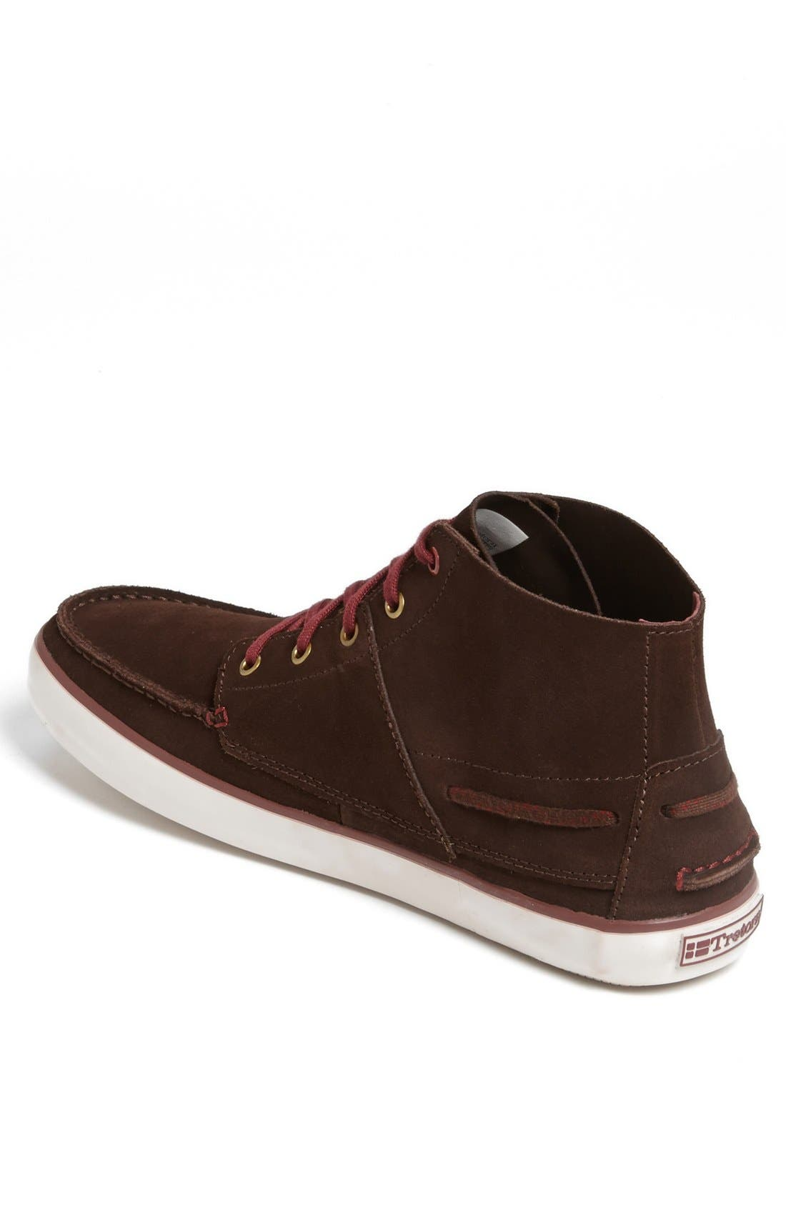 Alternate Image 2  - Tretorn 'Otto Mid' Suede Sneaker (Men)