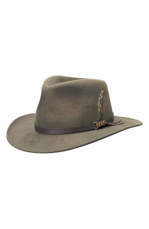 2cdc06e557c Scala  Classico  Crushable Felt Outback Hat