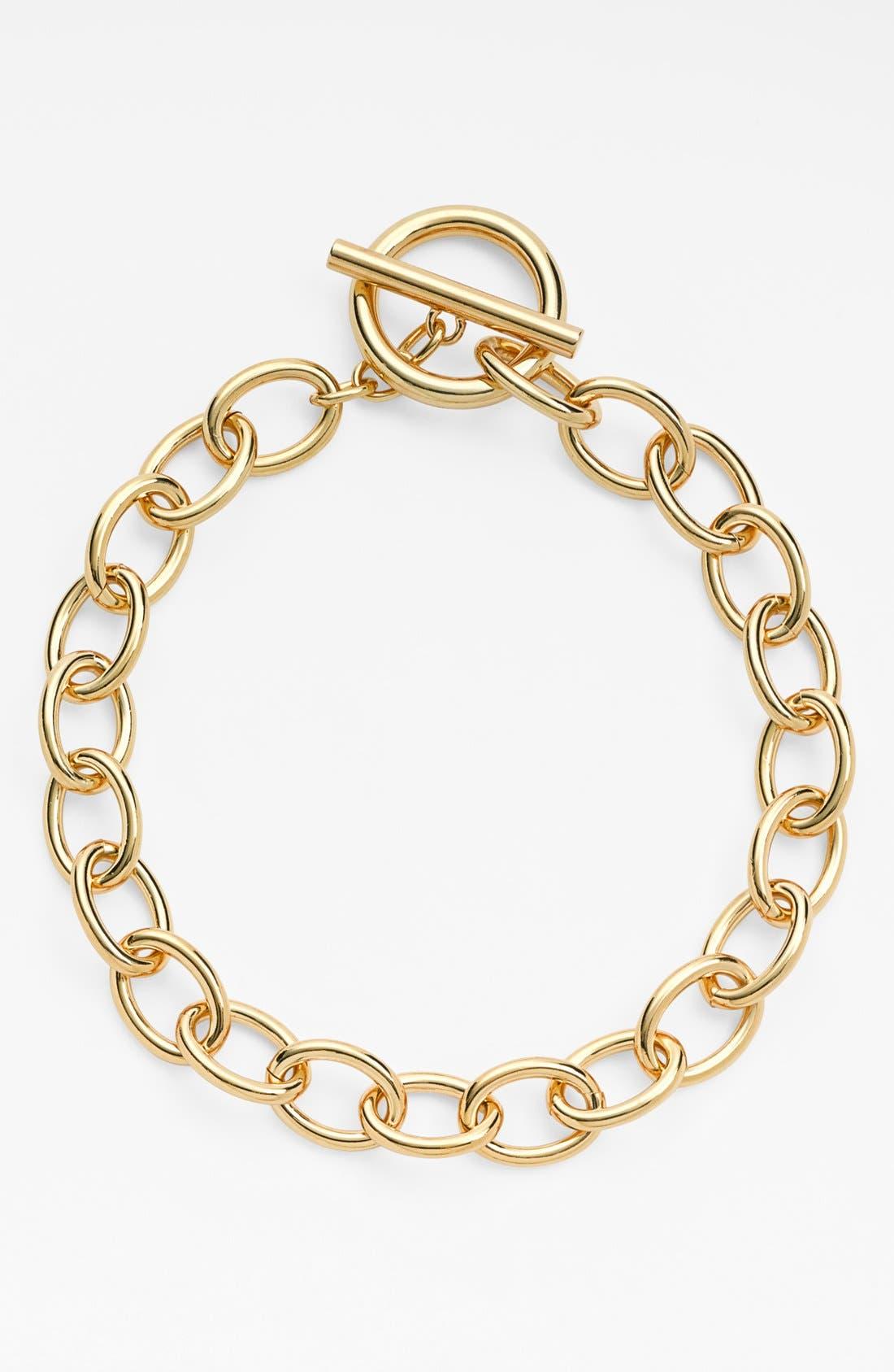 Alternate Image 2  - Lauren Ralph Lauren Oval Link Necklace