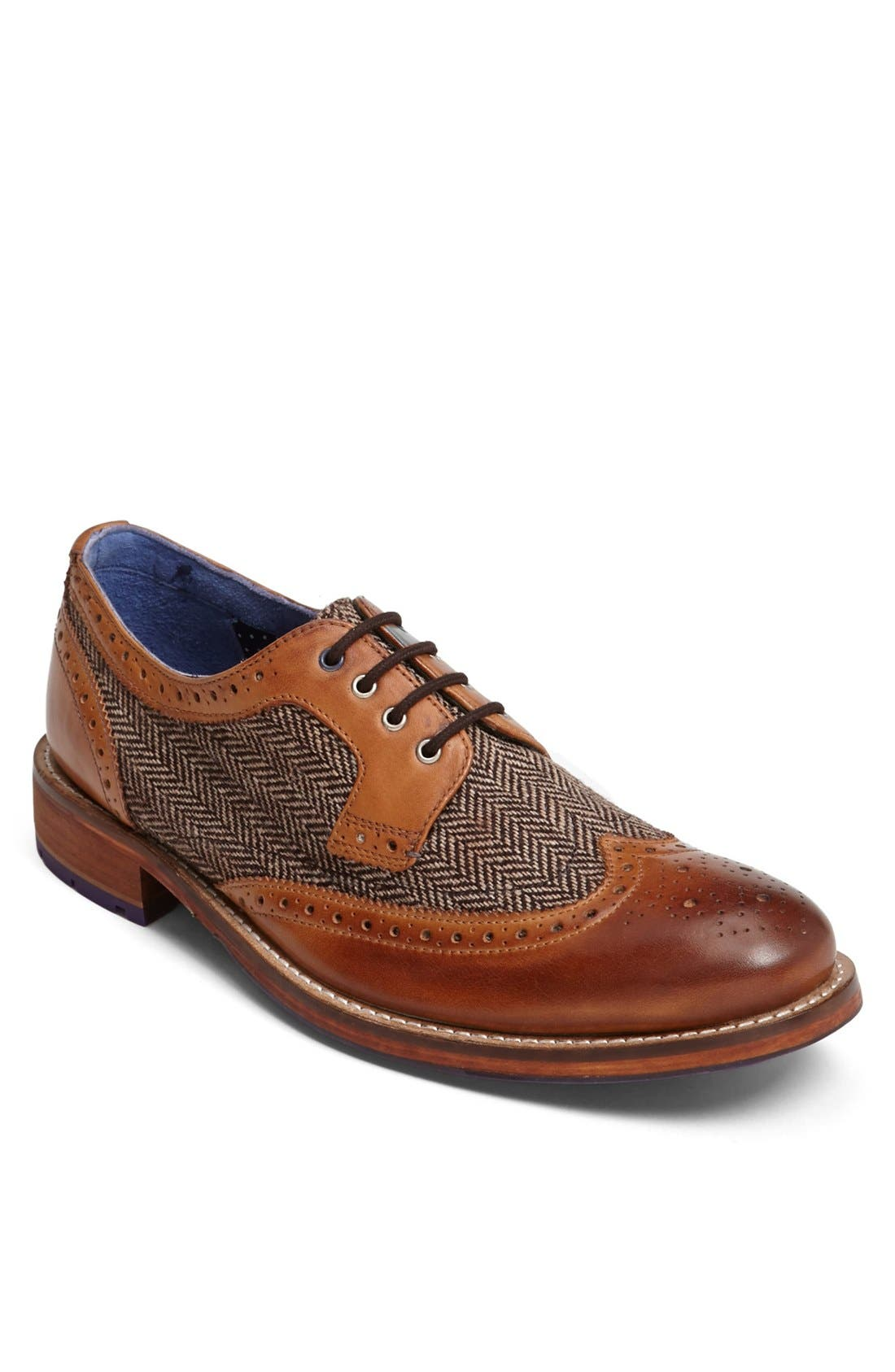 Alternate Image 1 Selected - Ted Baker London 'Cassiuss 2' Spectator Shoe