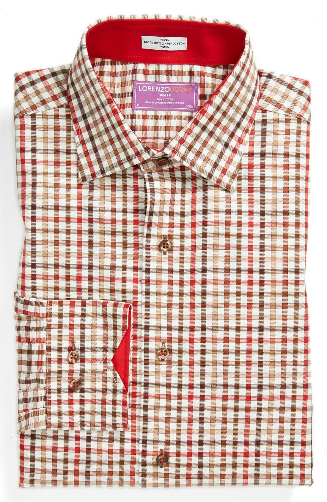 Alternate Image 1 Selected - Lorenzo Uomo Trim Fit Dress Shirt