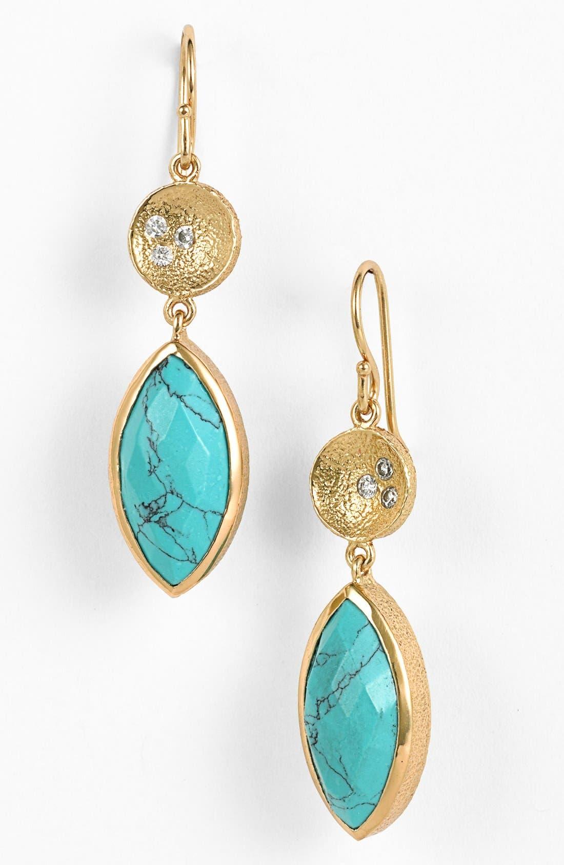 Alternate Image 1 Selected - Melinda Maria 'Dory' Drop Earrings
