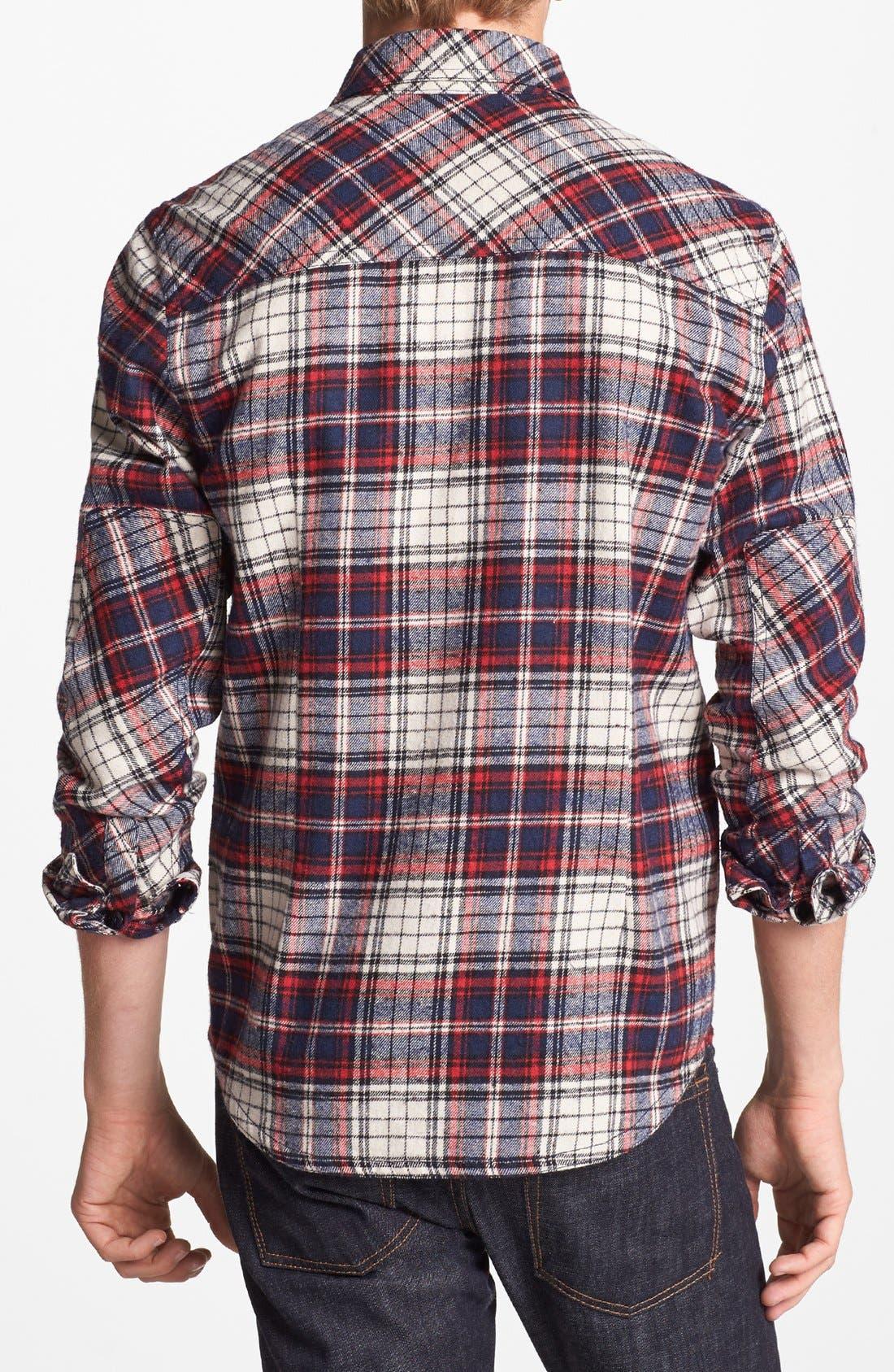 Alternate Image 2  - Kane & Unke 'Darin's Fave' Plaid Flannel Shirt