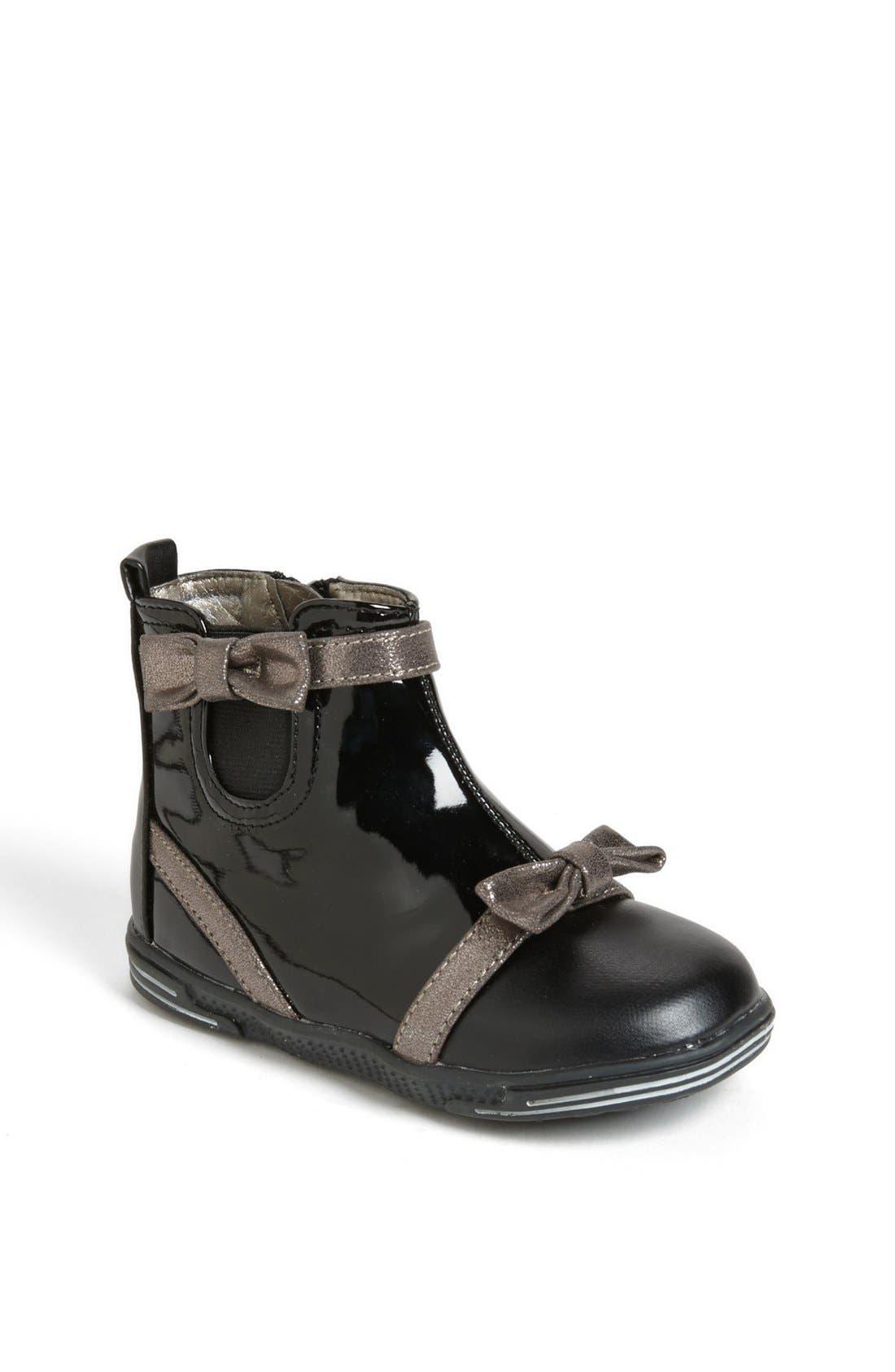 Alternate Image 1 Selected - kensie girl Bow Boot (Walker & Toddler)