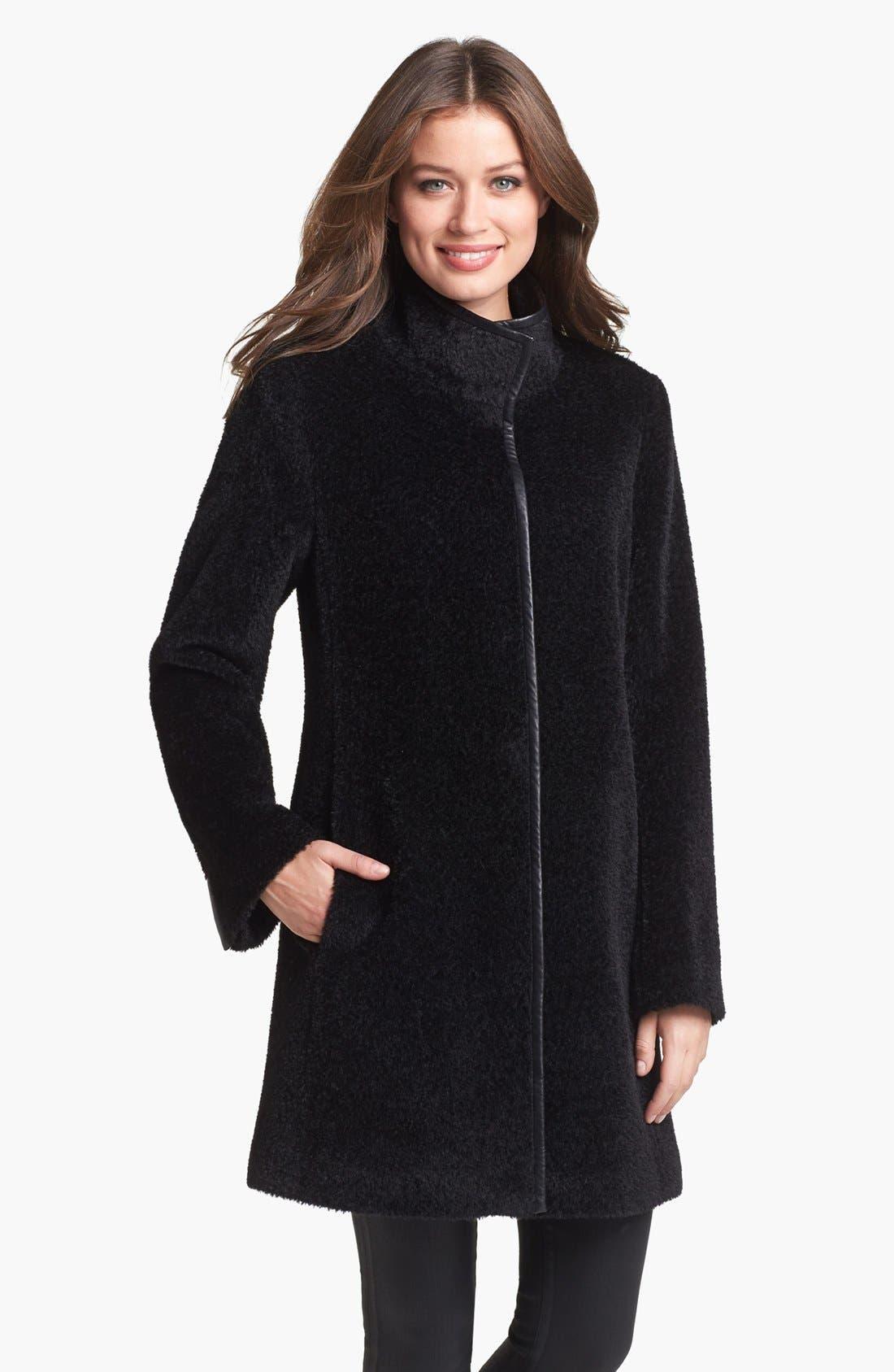 Alternate Image 1 Selected - Eileen Fisher Wool & Alpaca Blend Coat