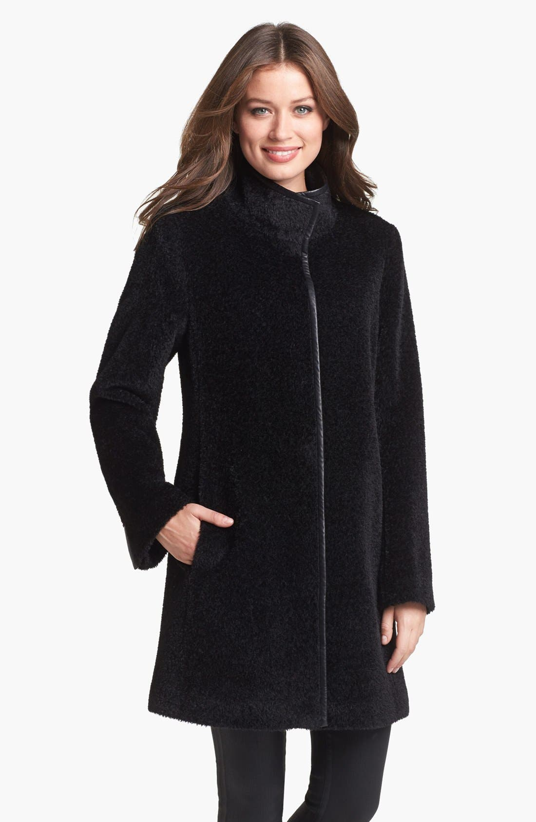 Main Image - Eileen Fisher Wool & Alpaca Blend Coat