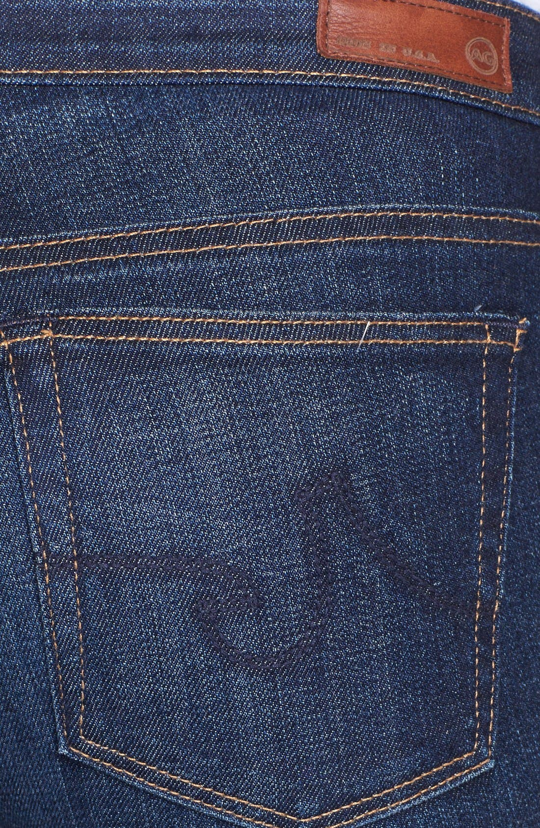 'The Stilt' Cigarette Leg Jeans,                             Alternate thumbnail 3, color,                             Free
