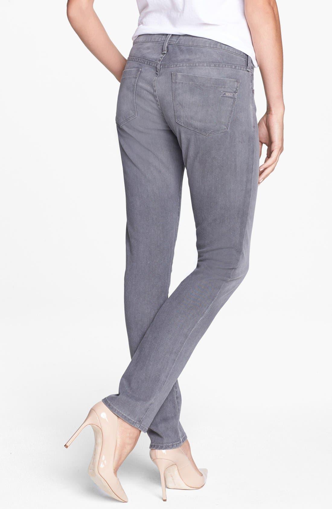 Alternate Image 2  - A Gold E 'Chloe' Slim Straight Leg Jeans (Lyon)