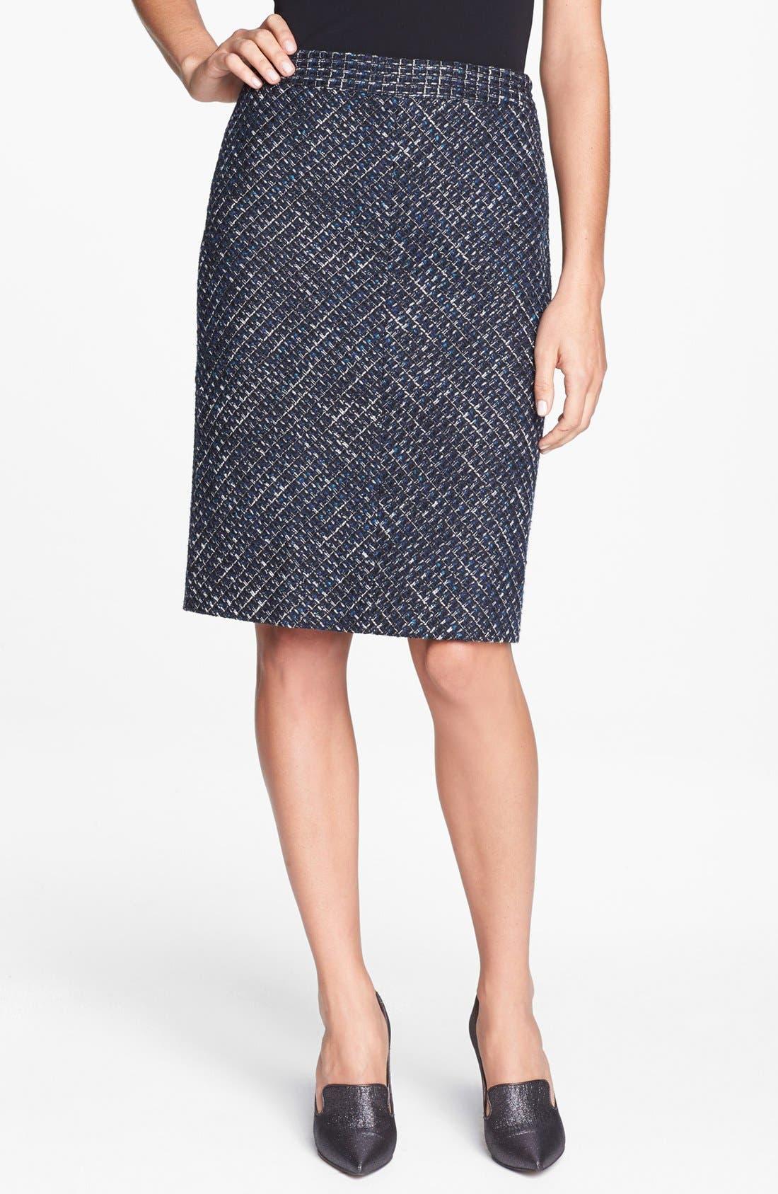 Alternate Image 1 Selected - Classiques Entier® 'Ambra Weave' Skirt