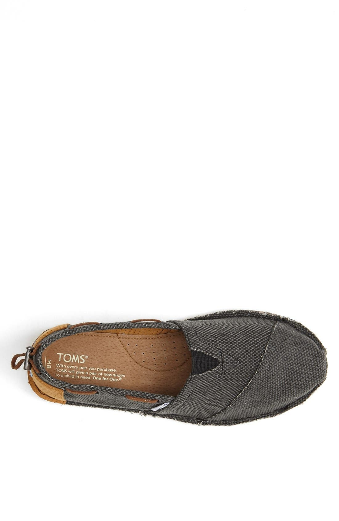 Alternate Image 3  - TOMS 'Bimini - Stitchout' Slip-On (Men)