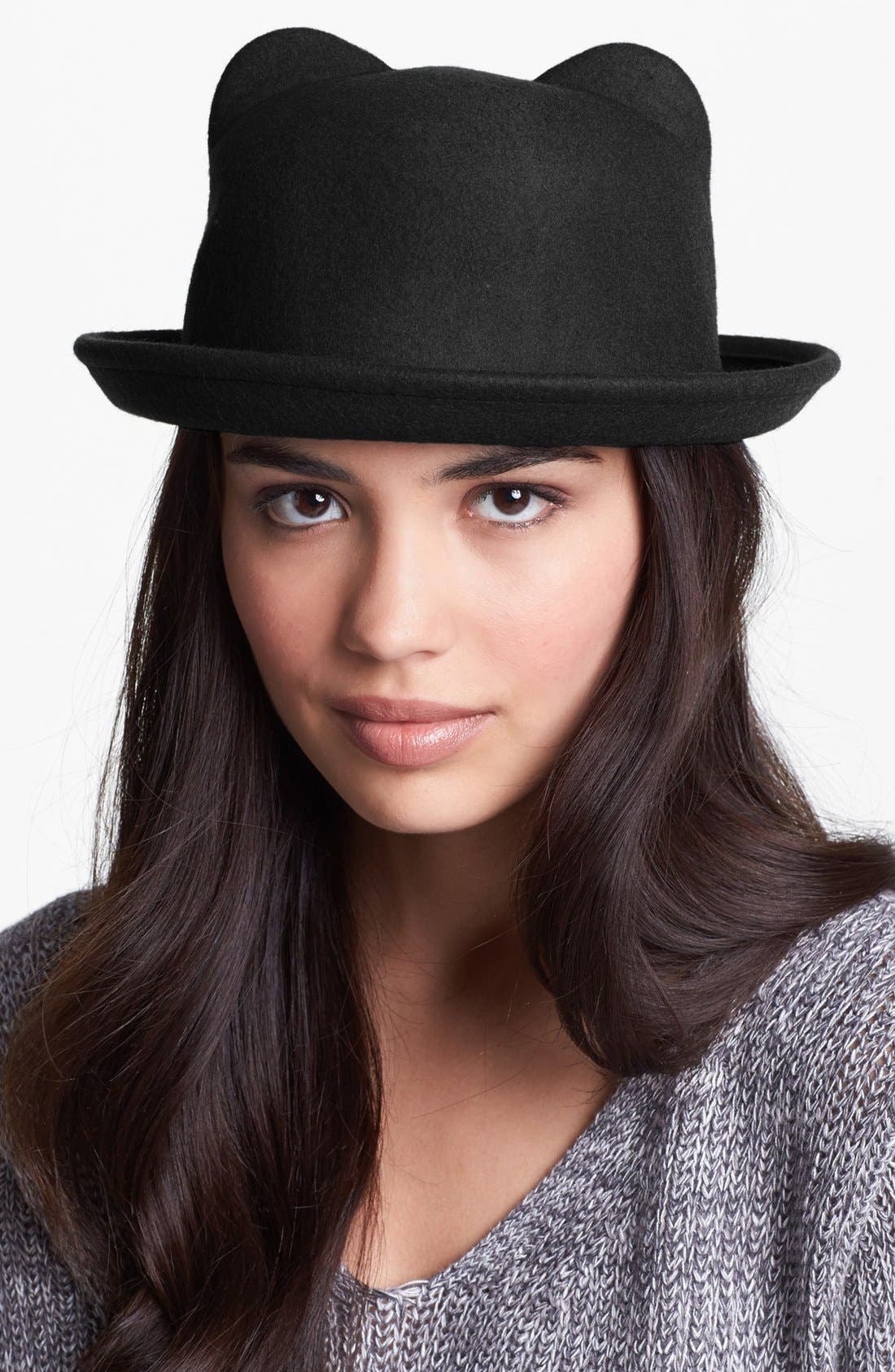 Alternate Image 1 Selected - Leith Cat Ear Bowler Hat