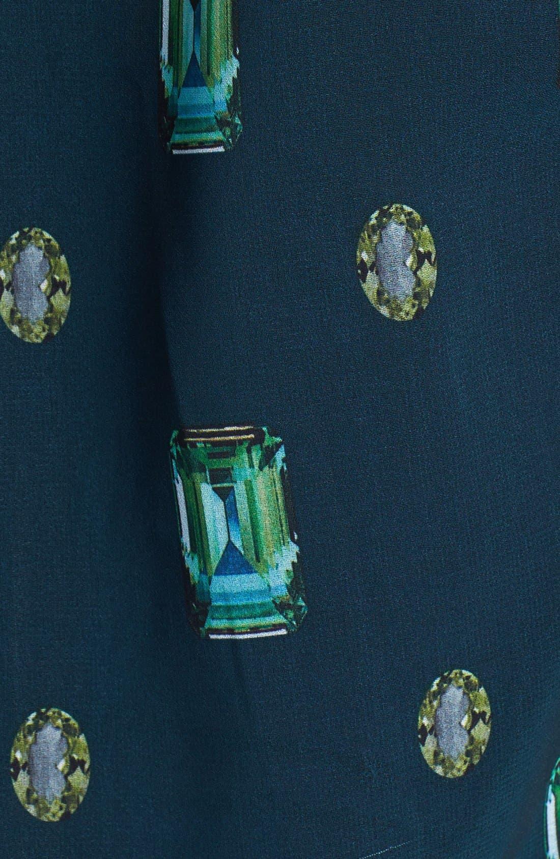 Alternate Image 3  - Vince Camuto Jewel Print Blouse