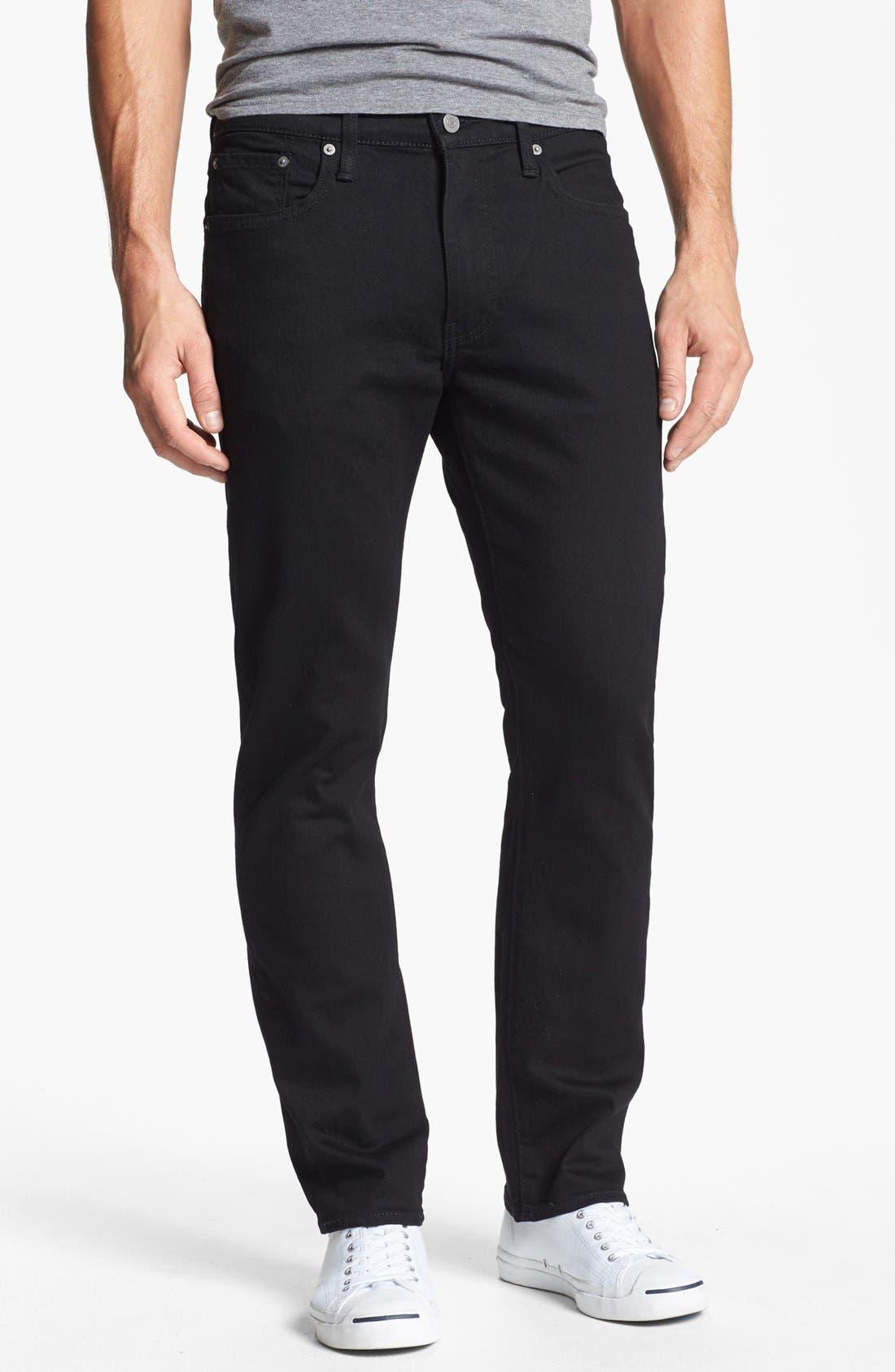 Main Image - Levi's® 513™ Slim Straight Leg Jeans (Nightshine)