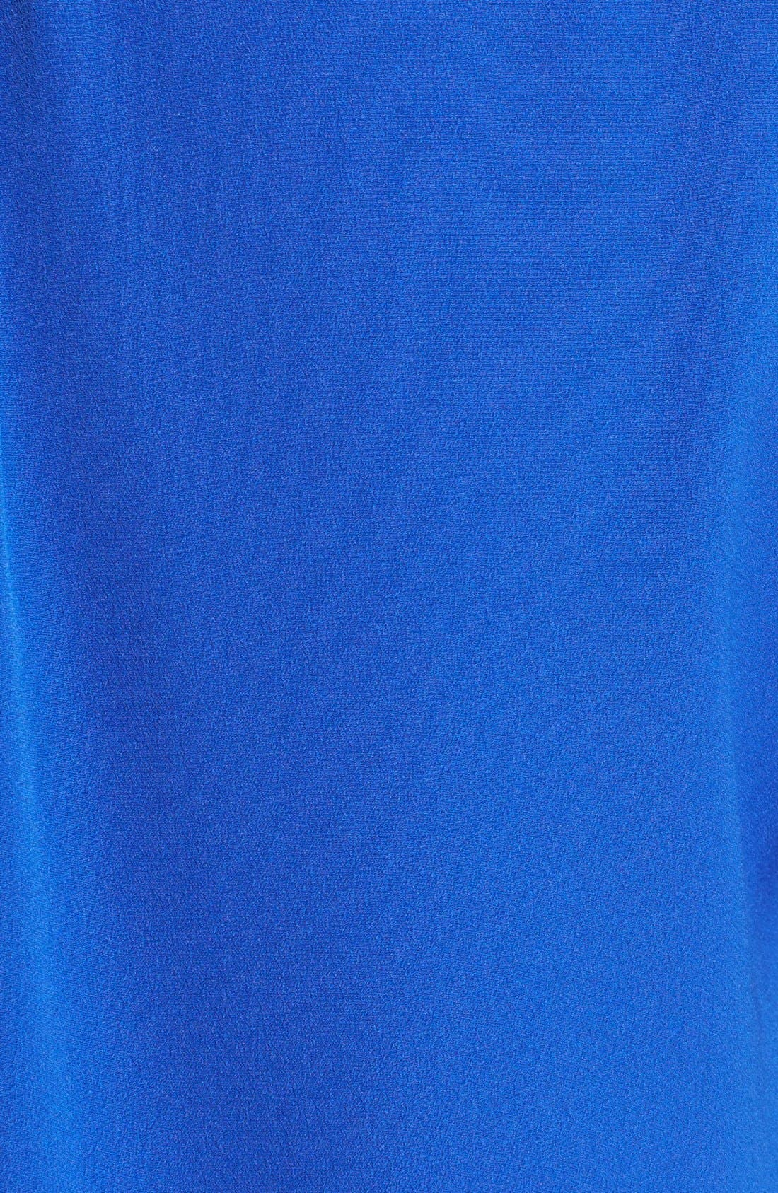 Alternate Image 3  - Two by Vince Camuto Colorblock Roll Tab Sleeve Blouse
