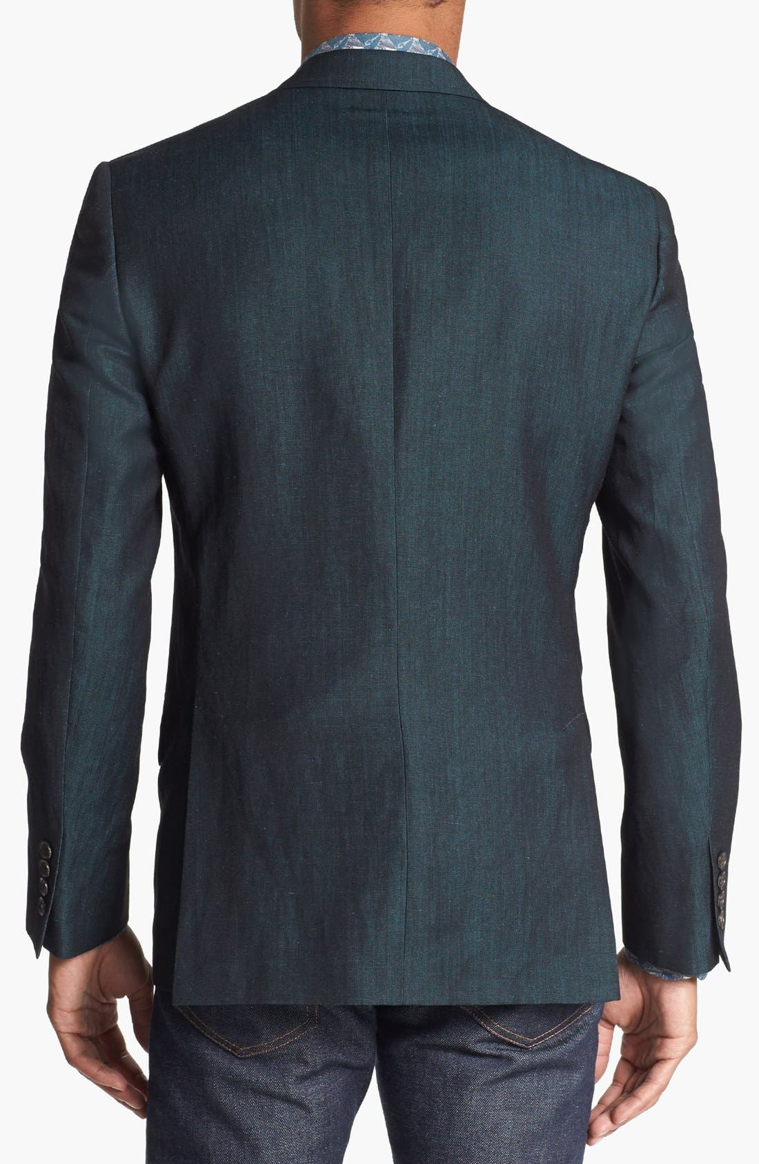 Alternate Image 2  - Ted Baker London 'Tram' Trim Fit Microcheck Sportcoat