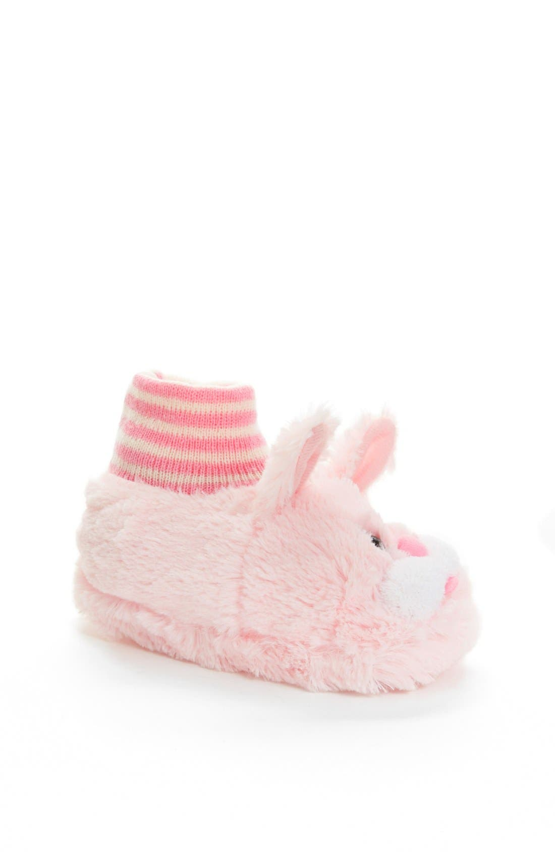 Main Image - Nordstrom Bunny Slippers (Walker, Toddler & Little Kid)