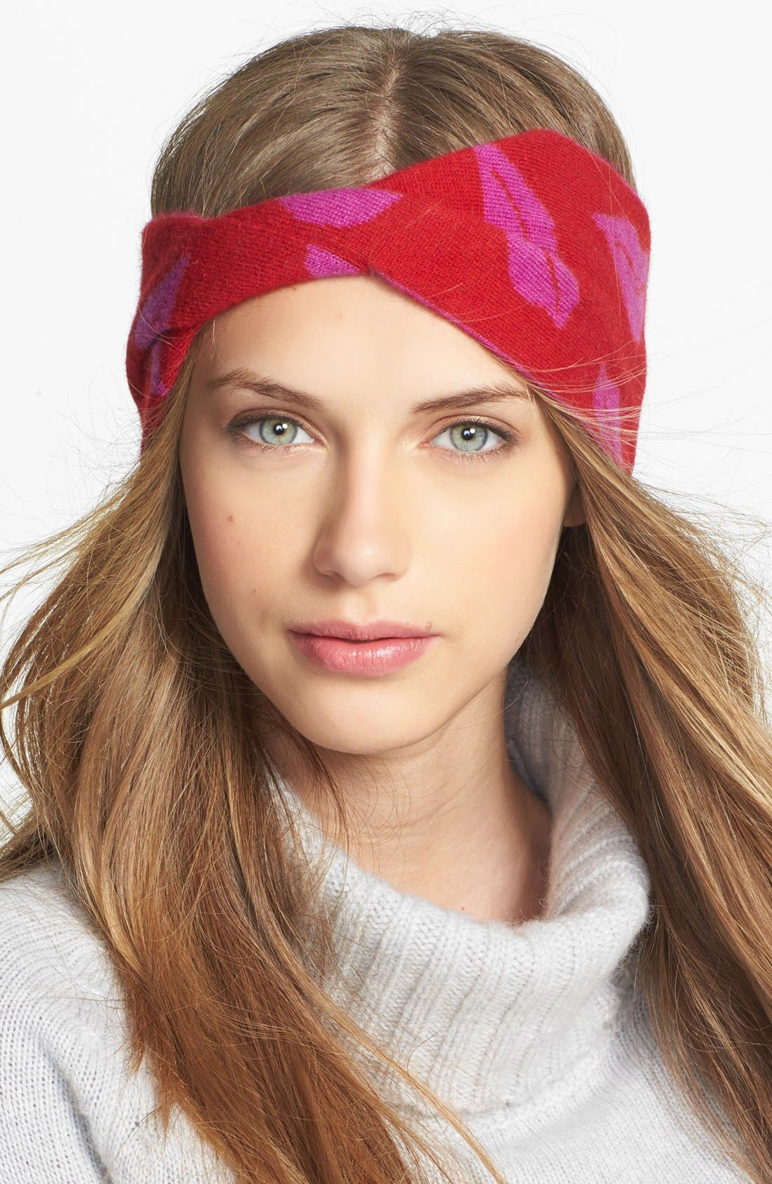 Alternate Image 1 Selected - Diane von Furstenberg 'Chloe - Iconic Lips' Head Wrap