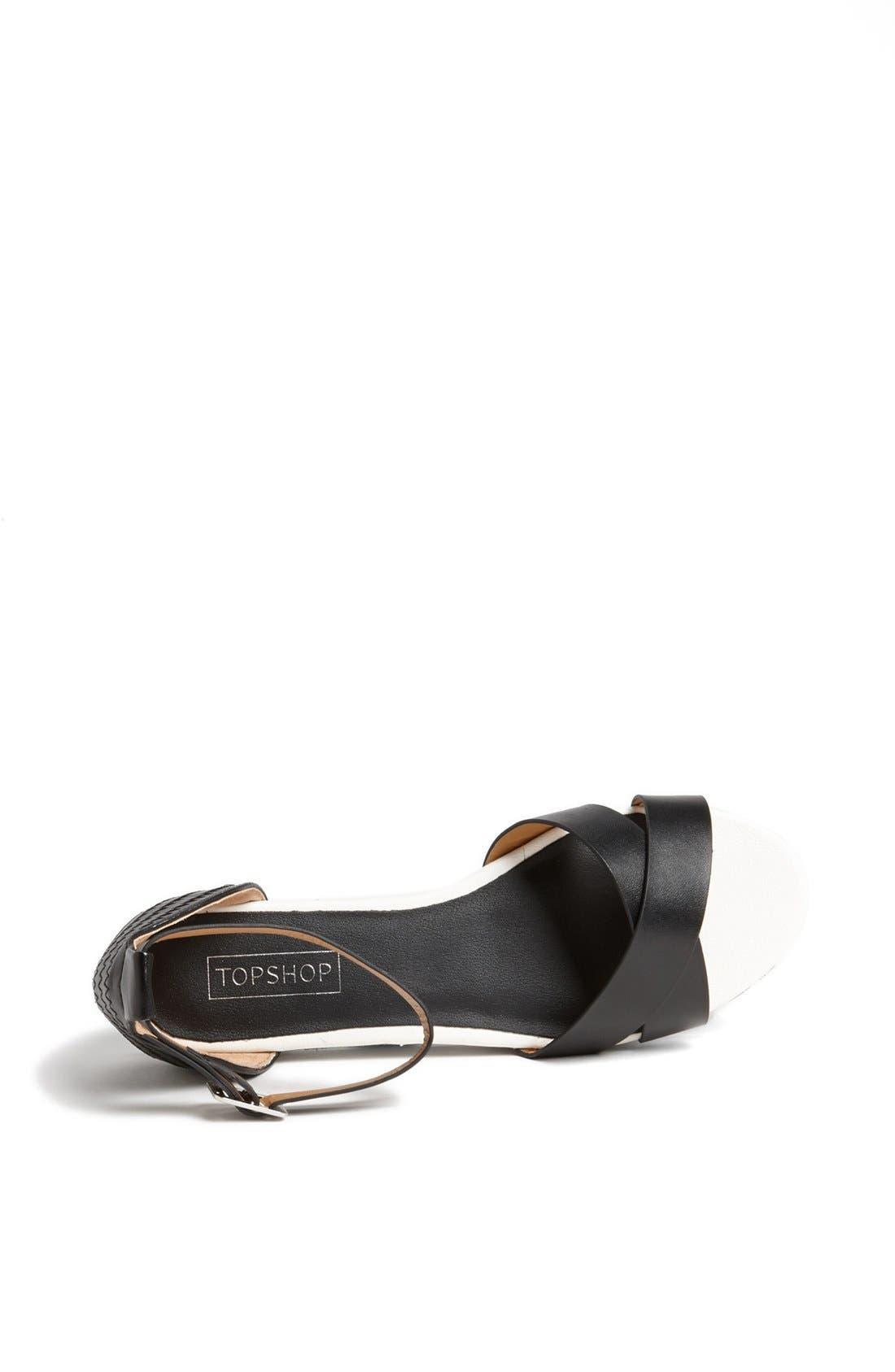 Alternate Image 3  - Topshop 'Hyper Glitter' Sandal