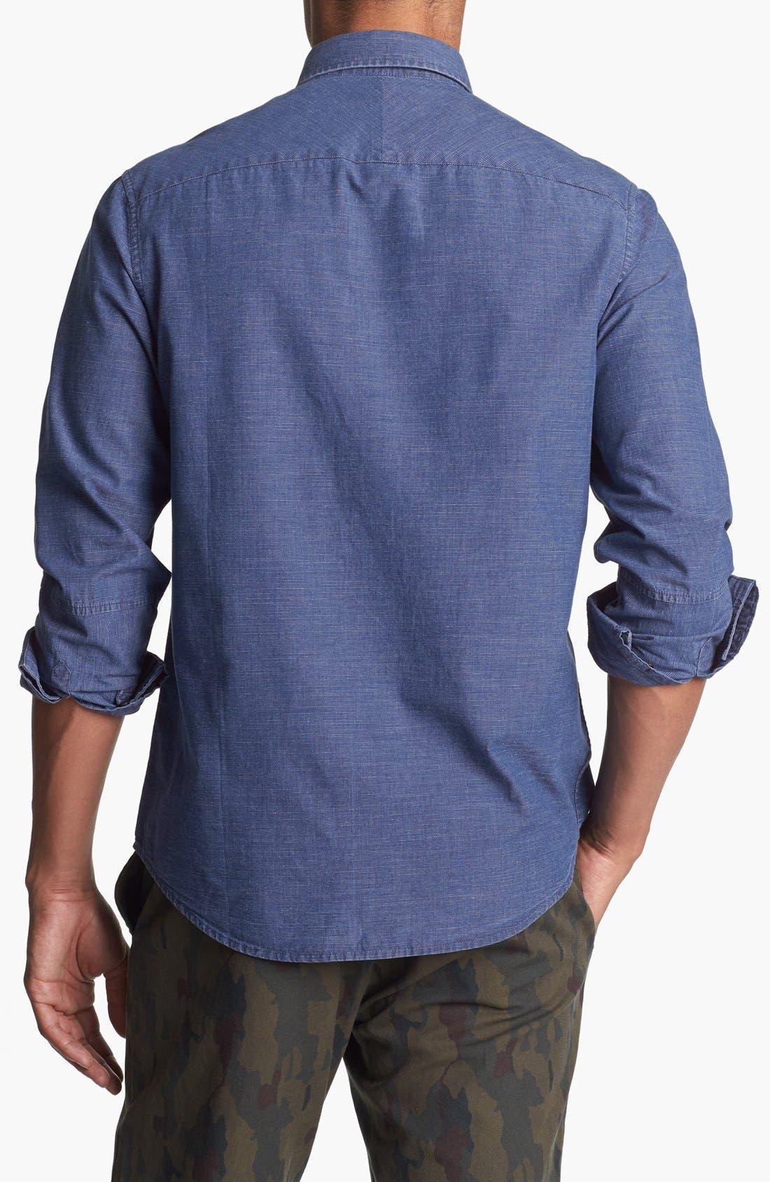 Alternate Image 2  - Original Penguin Washed Chambray Shirt