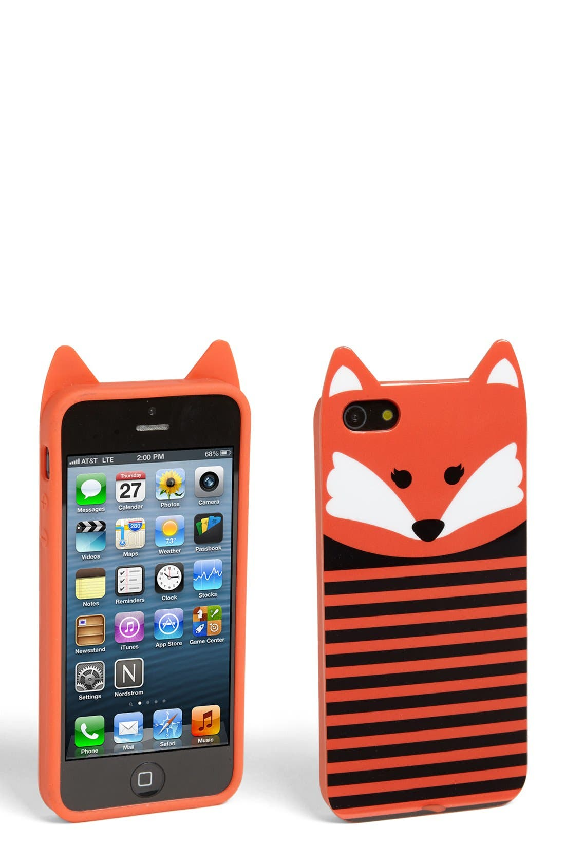Alternate Image 1 Selected - Capelli of New York 'Francis Fox' iPhone 5 Case (Juniors)